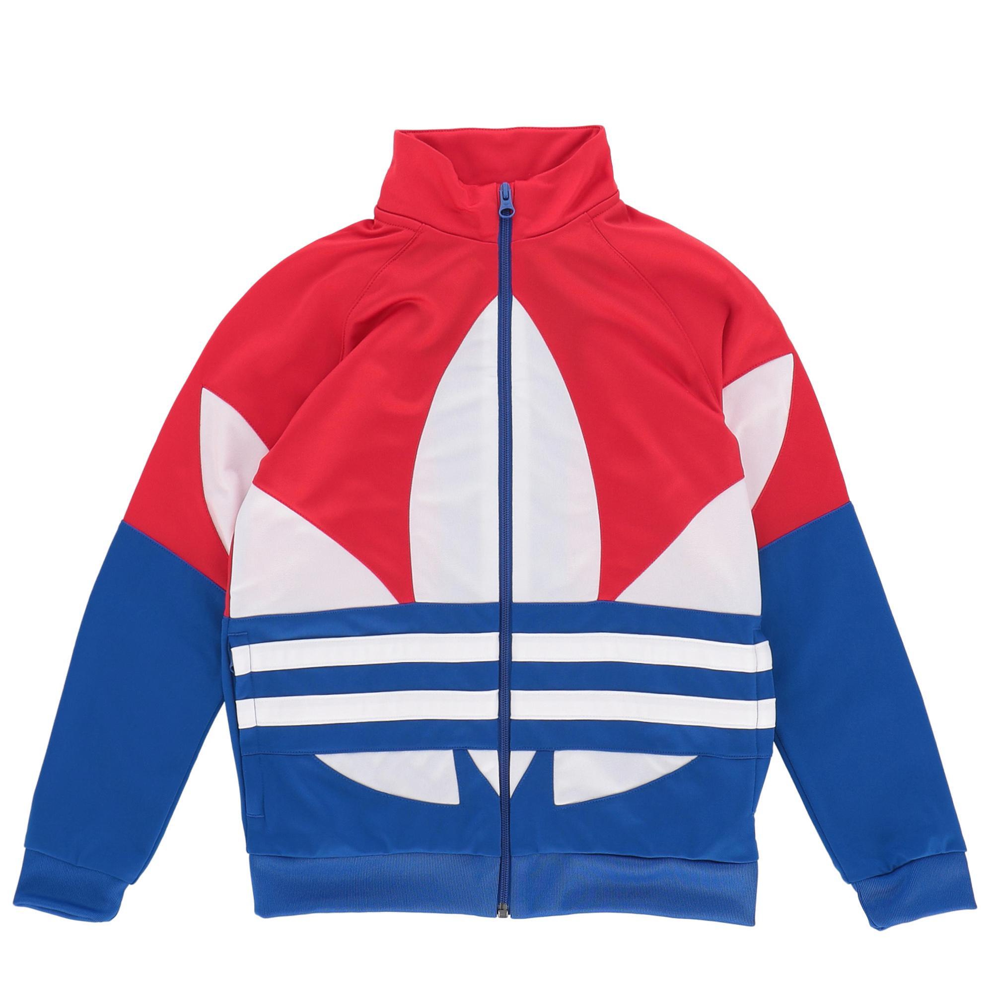 Adidas Big Trefoil Tt Scarlet team royal blue white