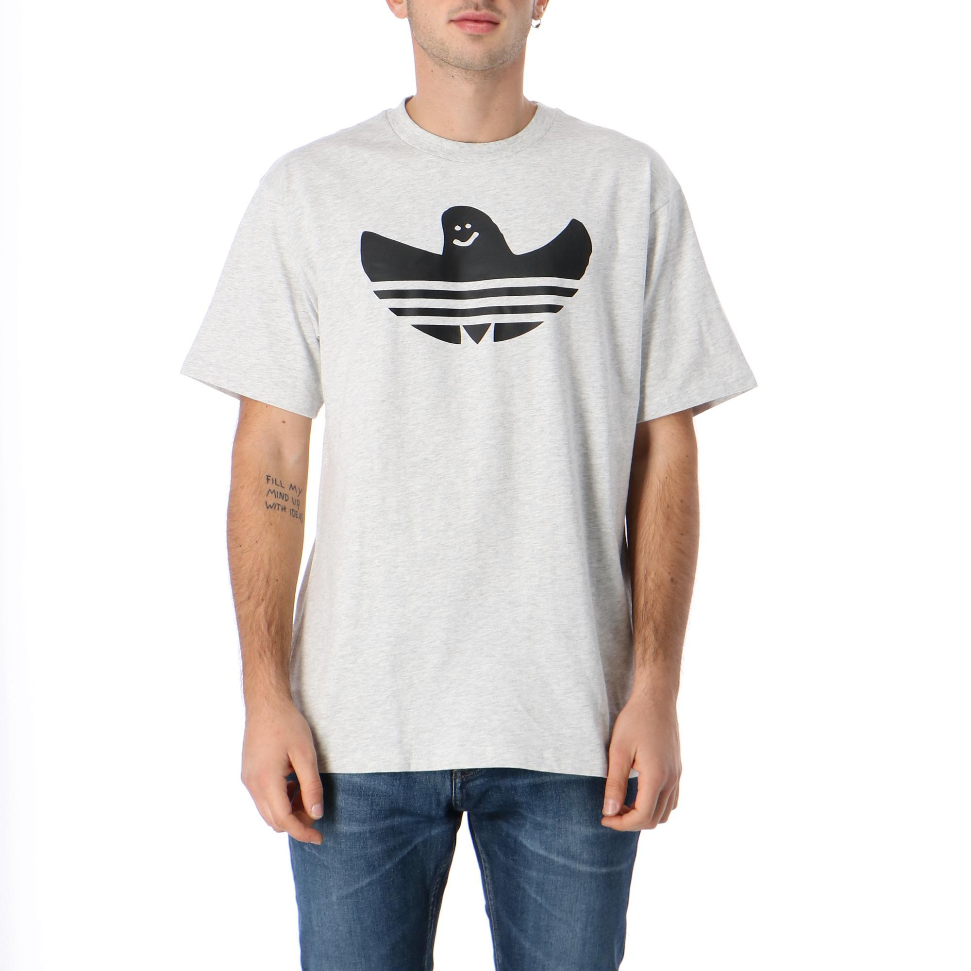Adidas Ss G Shmoo Tee<br/><br/> <br/> Light grey heather