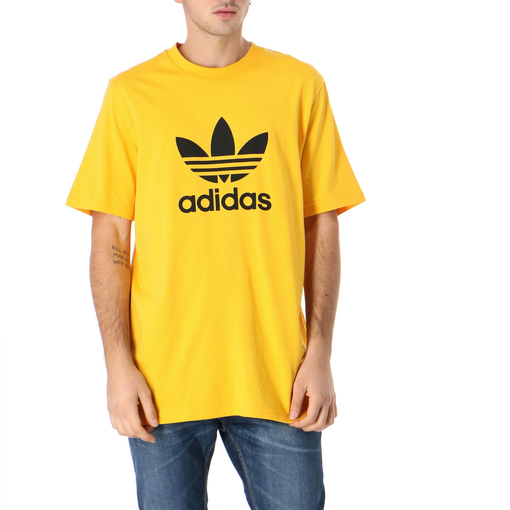 Adidas Trefoil Tee<br/> Active gold