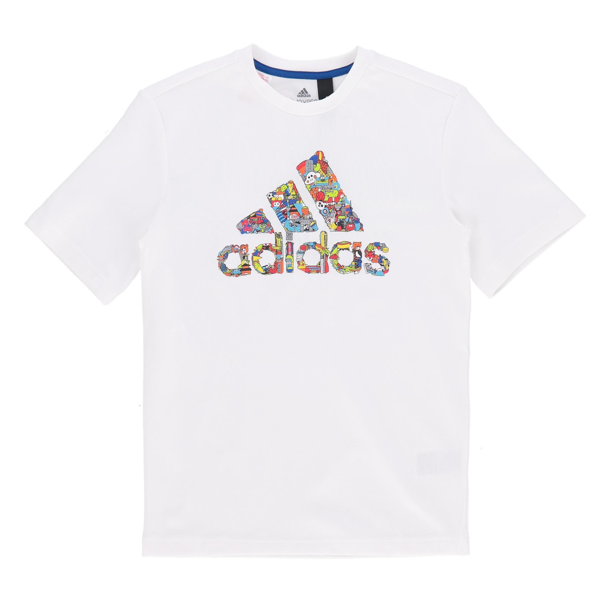 Adidas B Art Tee WHITE