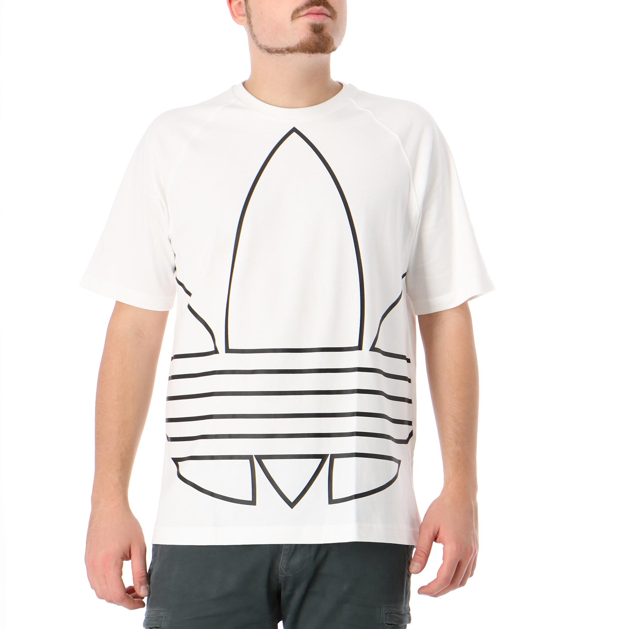 Adidas Bg Trf Out Tee White black