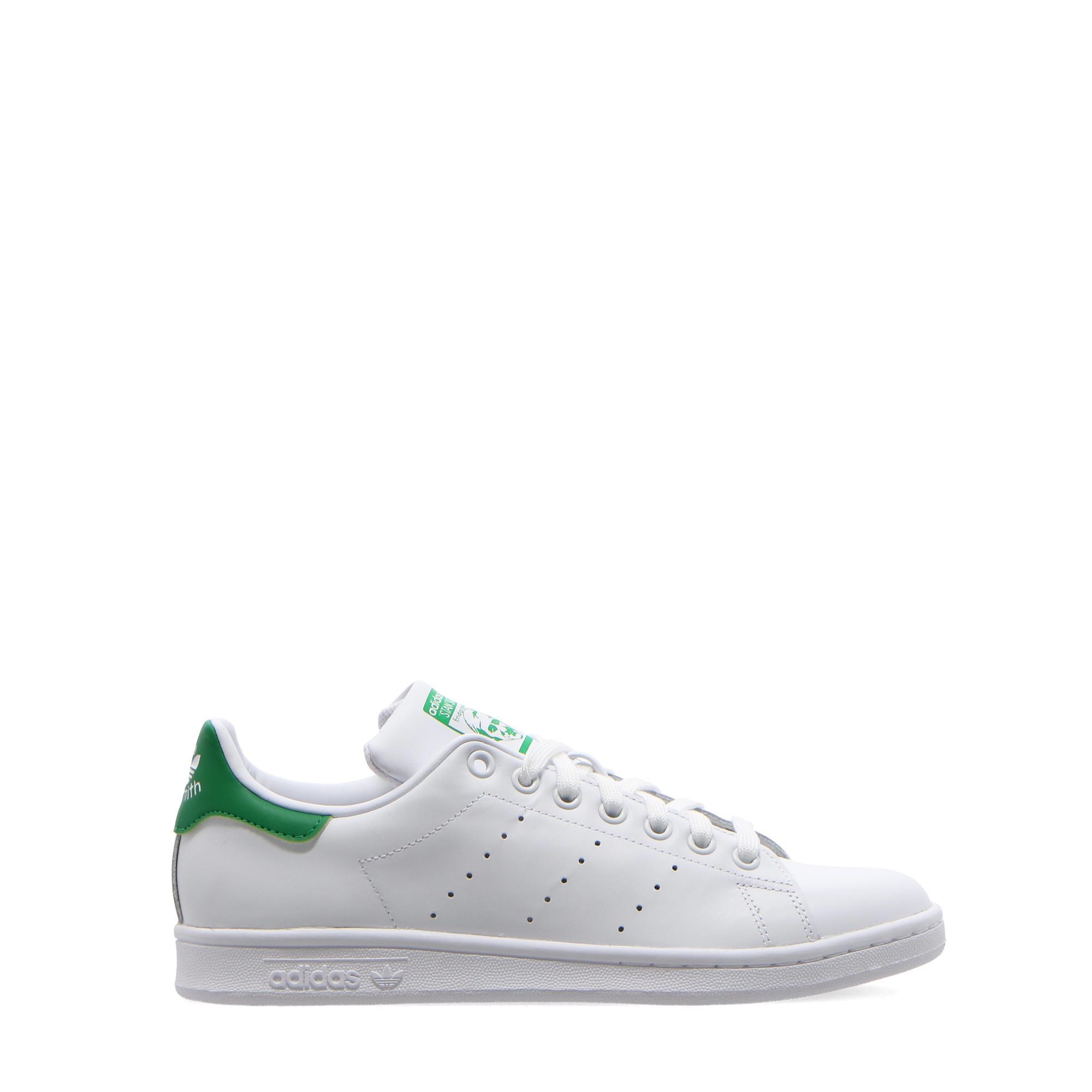 Adidas Stan Smith White white green