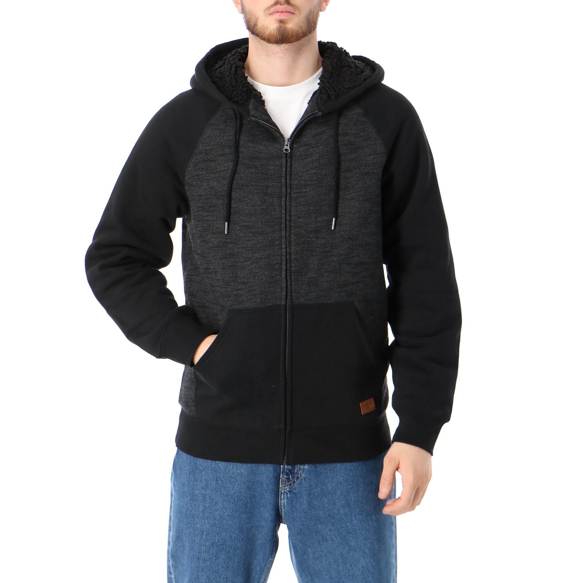 Billabong Balance Sherpa Zip Black