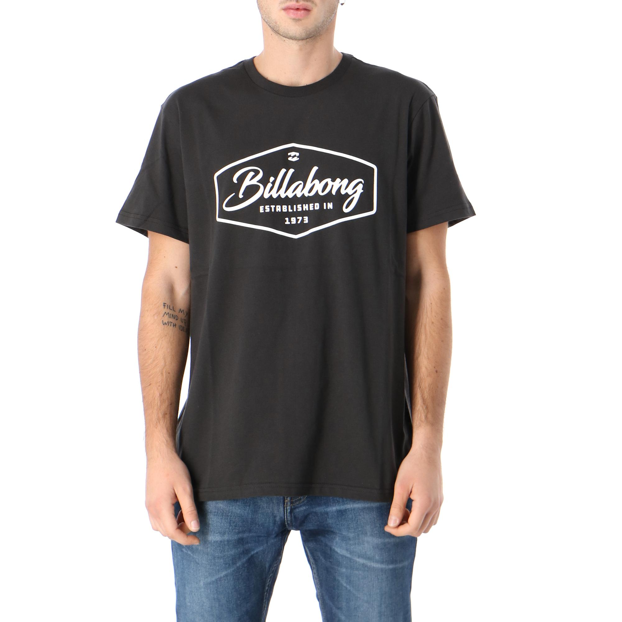Billabong Trademark Ss Black