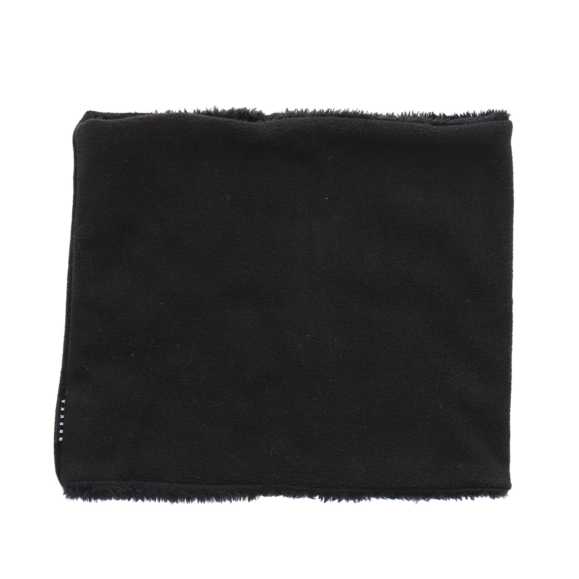 Brekka Double Fleece Neckwarmer Black