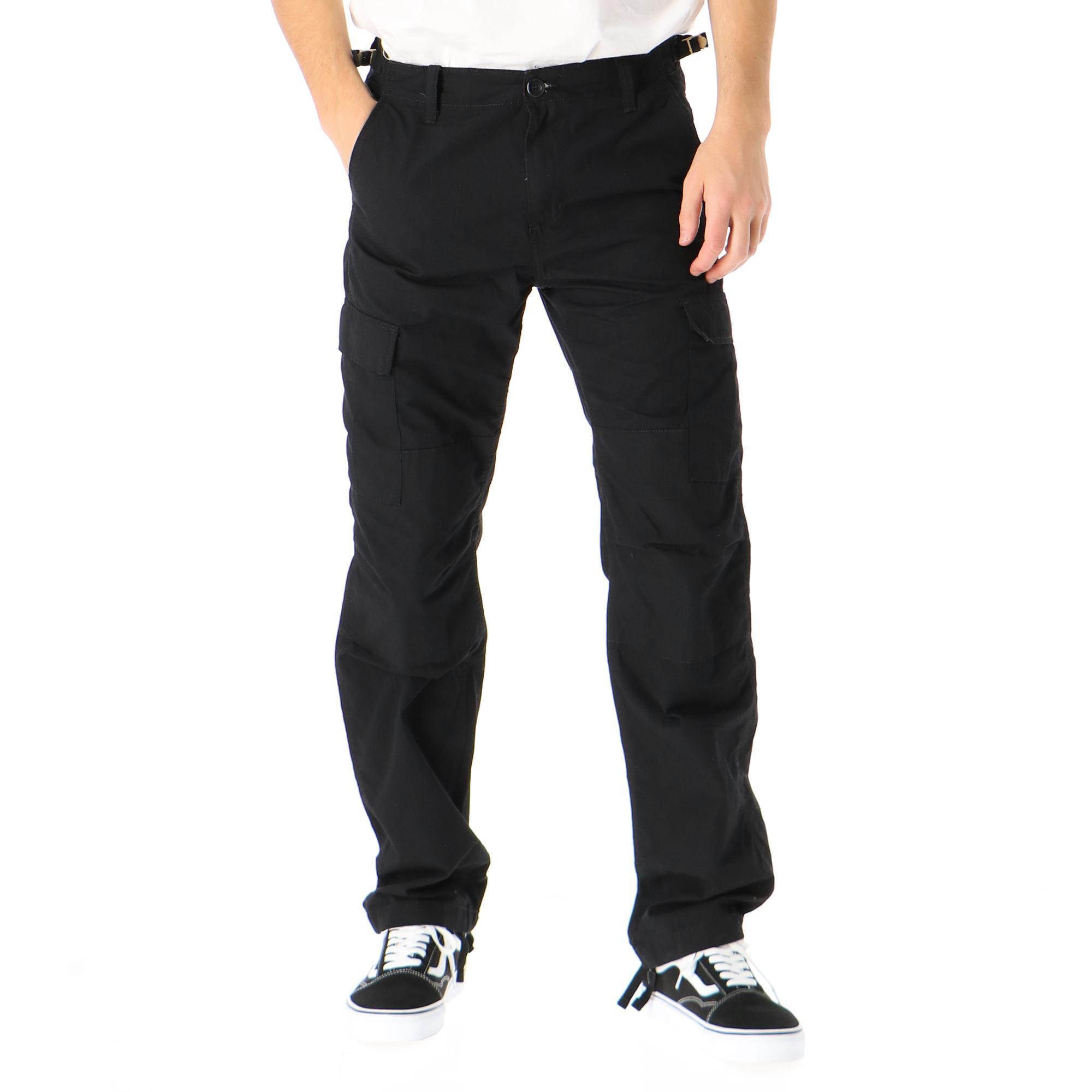 Carhartt Aviation Pant Black rinsed