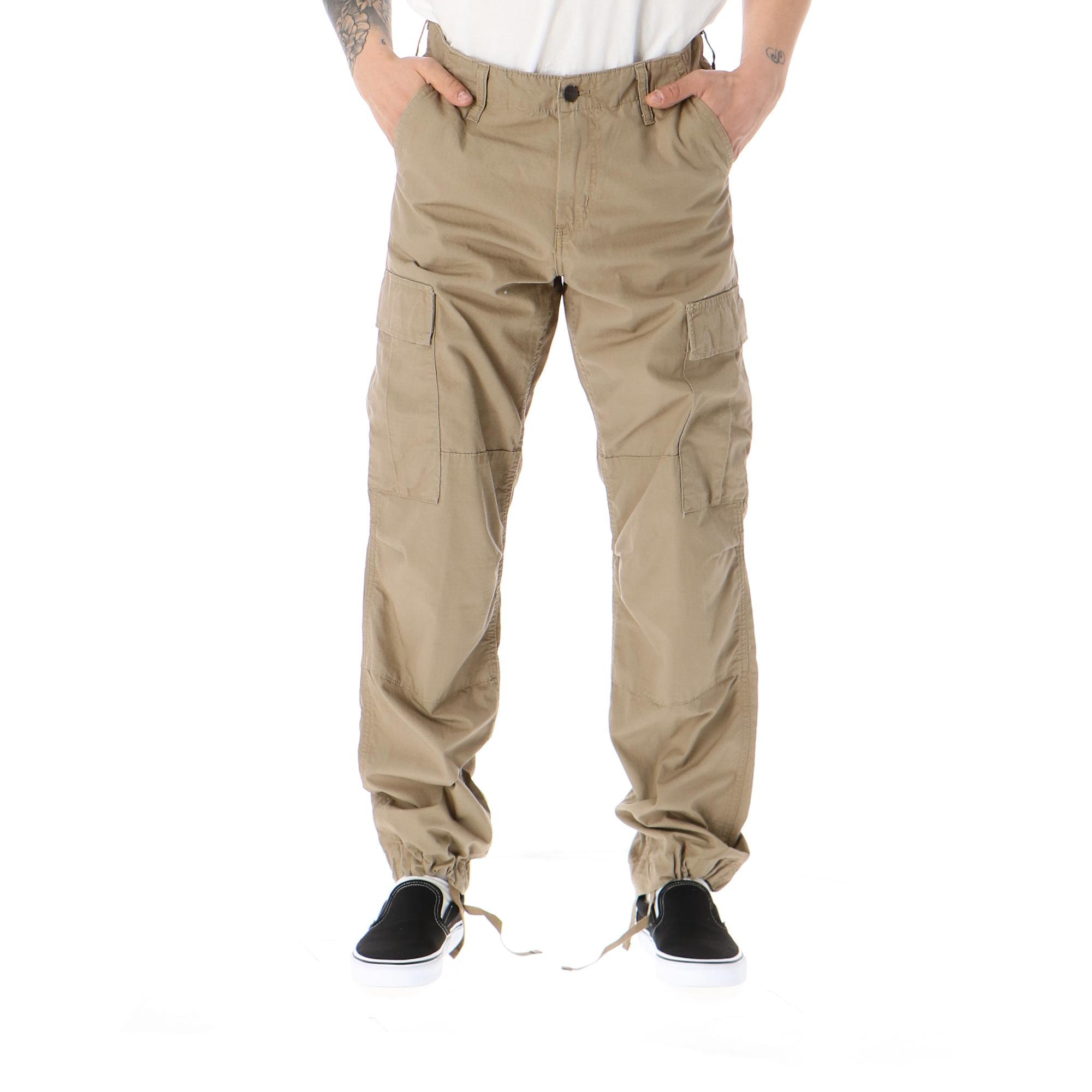 Regular Cargo Pant LEATHER RINSED