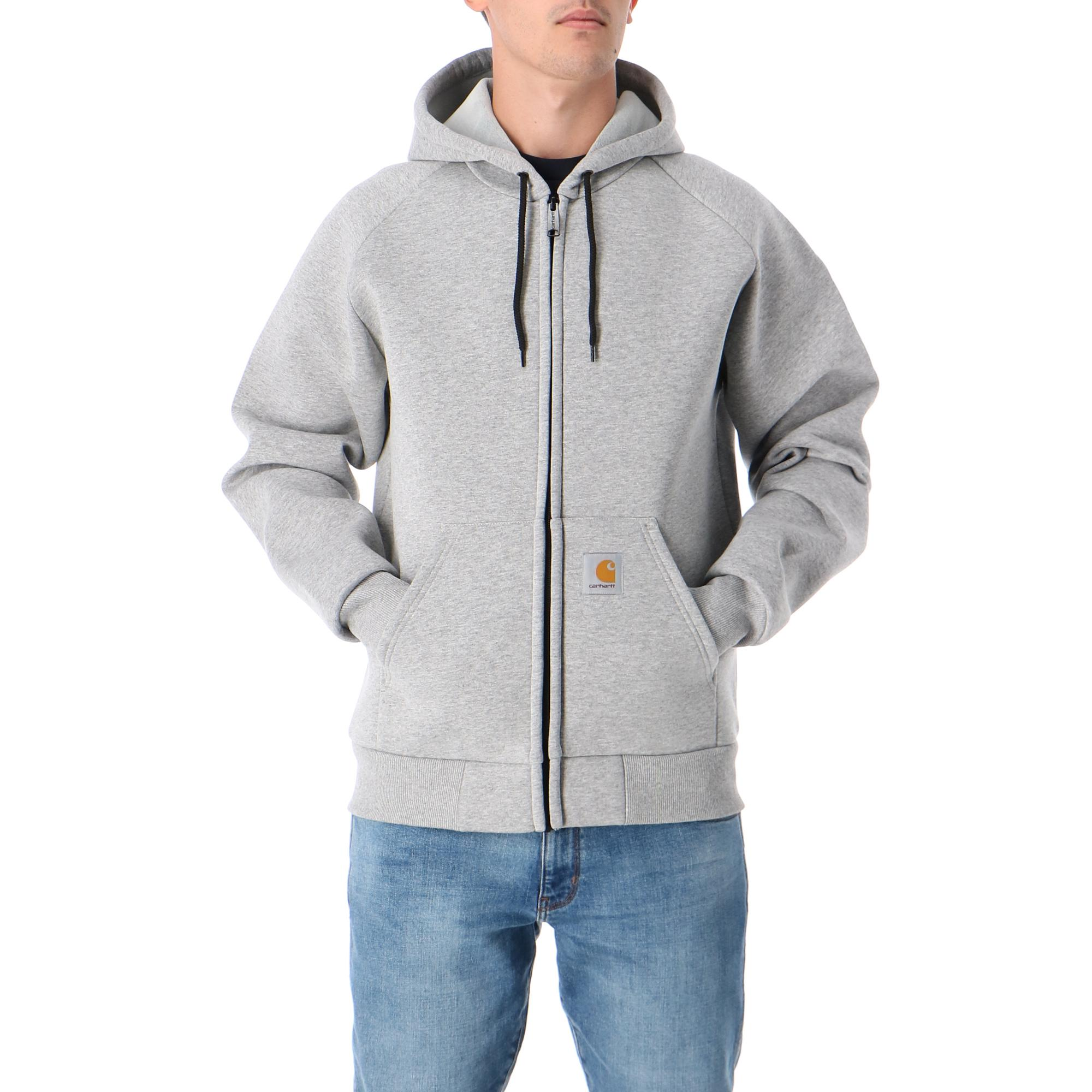 Carhartt Car-lux Hooded Jacket Grey heather grey