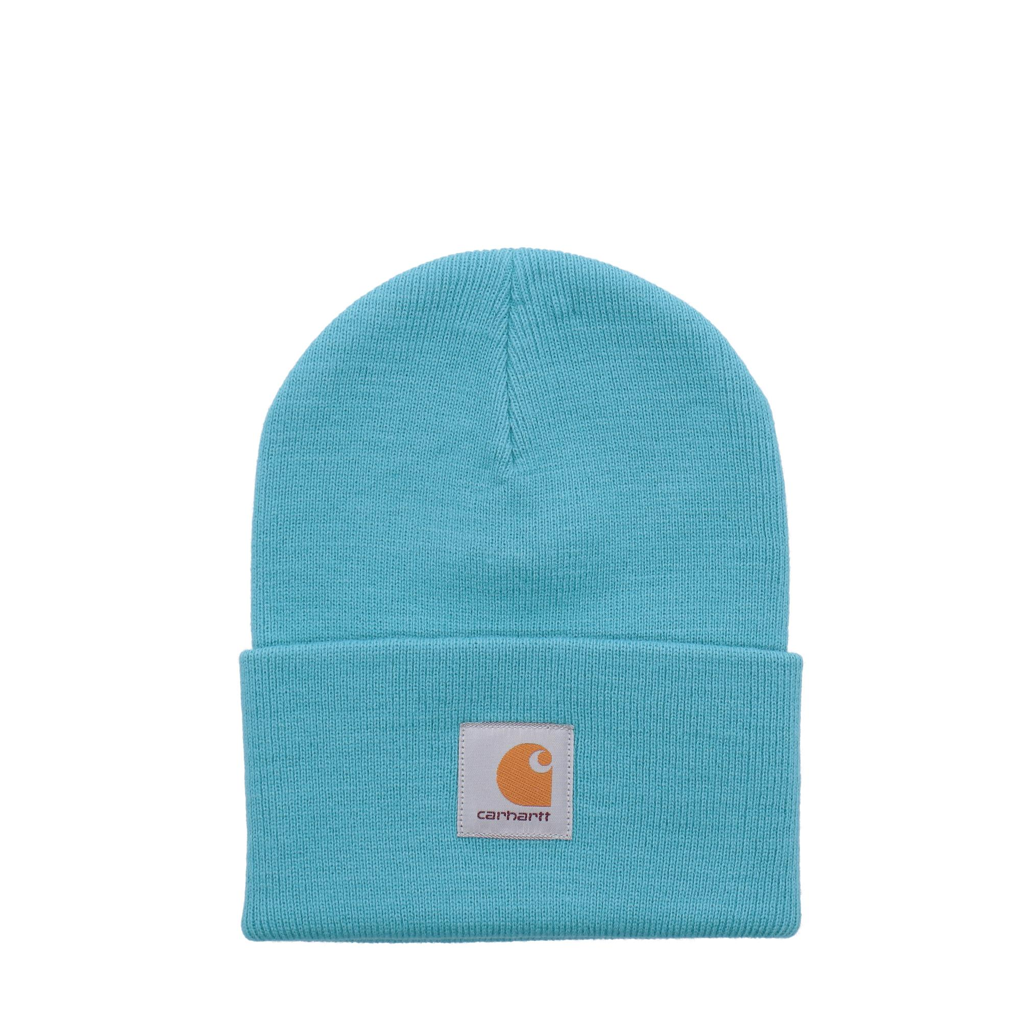Carhartt Acrylic Watch Hat<br/> Frosted turqouise