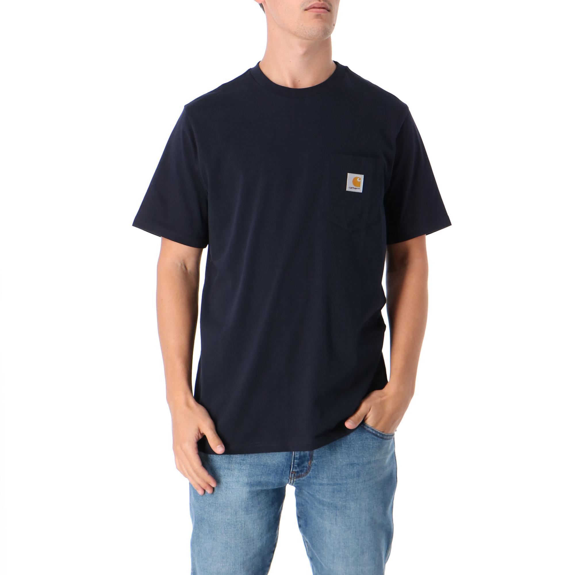 Carhartt S/s Pocket T-shirt DARK NAVY