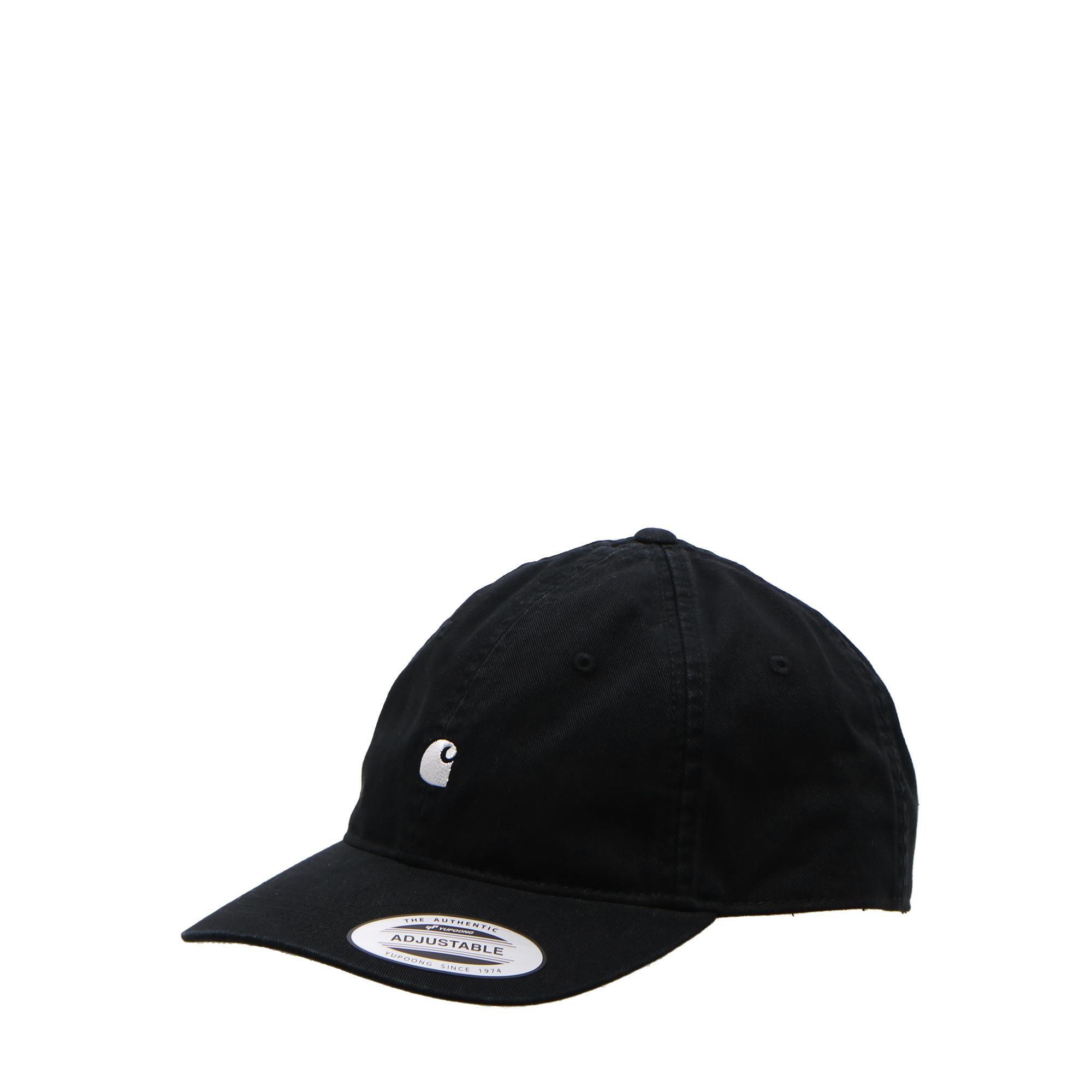 Carhartt Madison Logo Cap Black white
