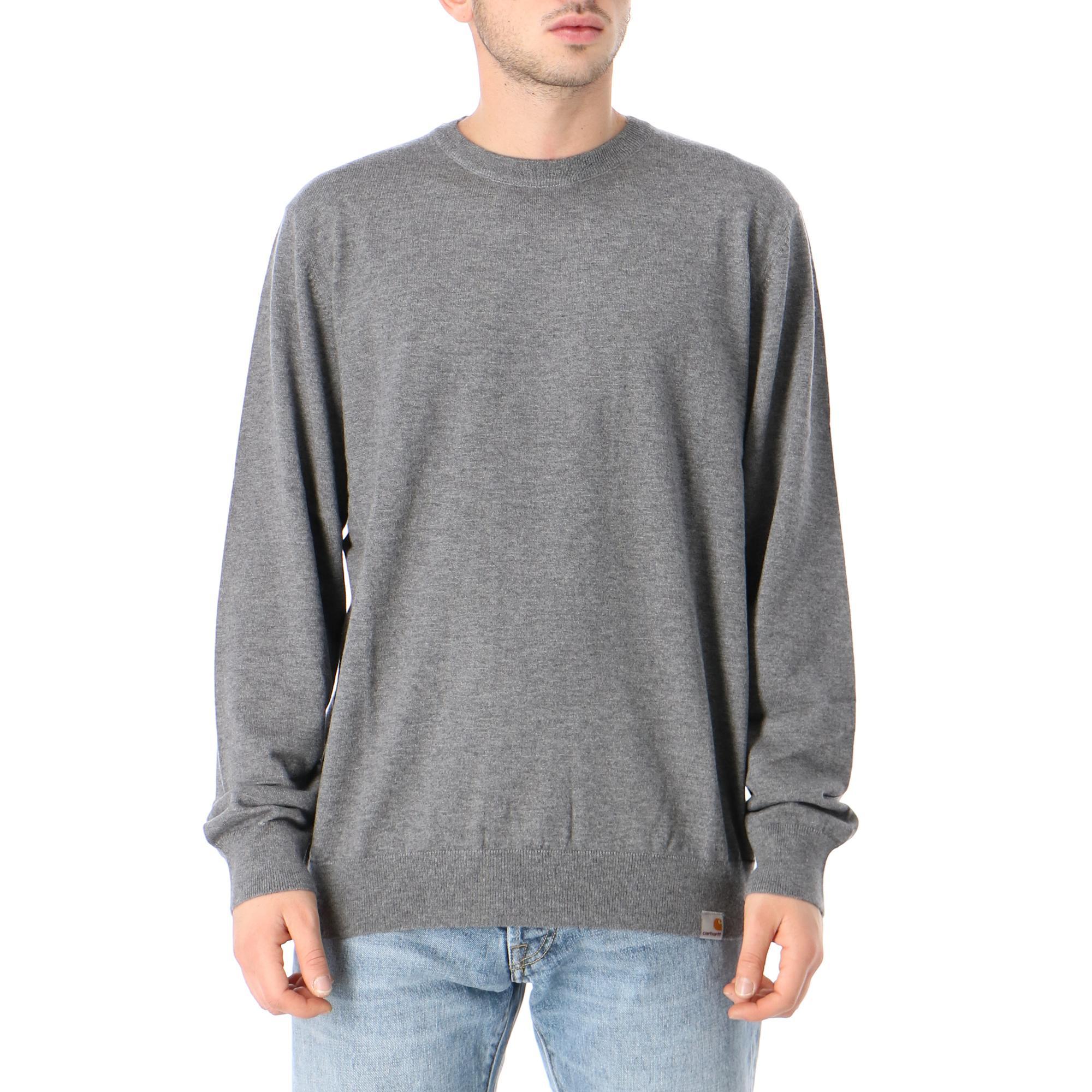 Carhartt Playoff Sweater Dark grey heather