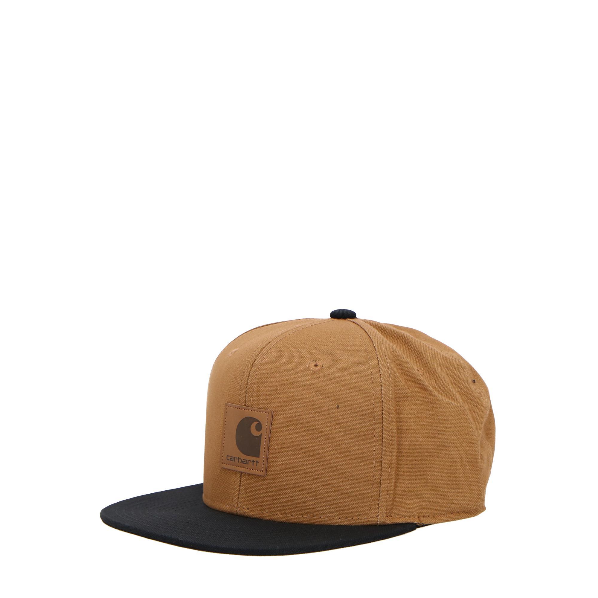 Carhartt Logo Cap Bi-colored Hamilton brown black