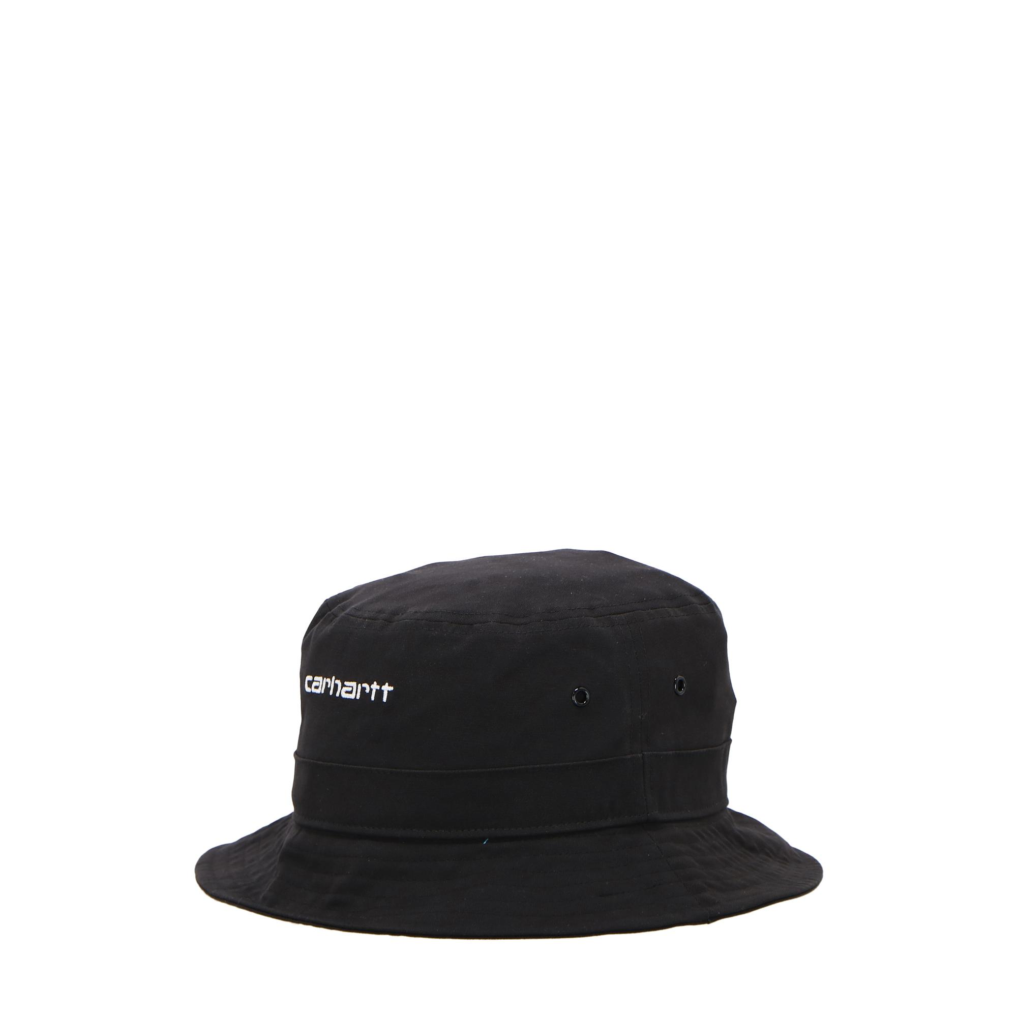 Carhartt Script Bucket Hat Black white