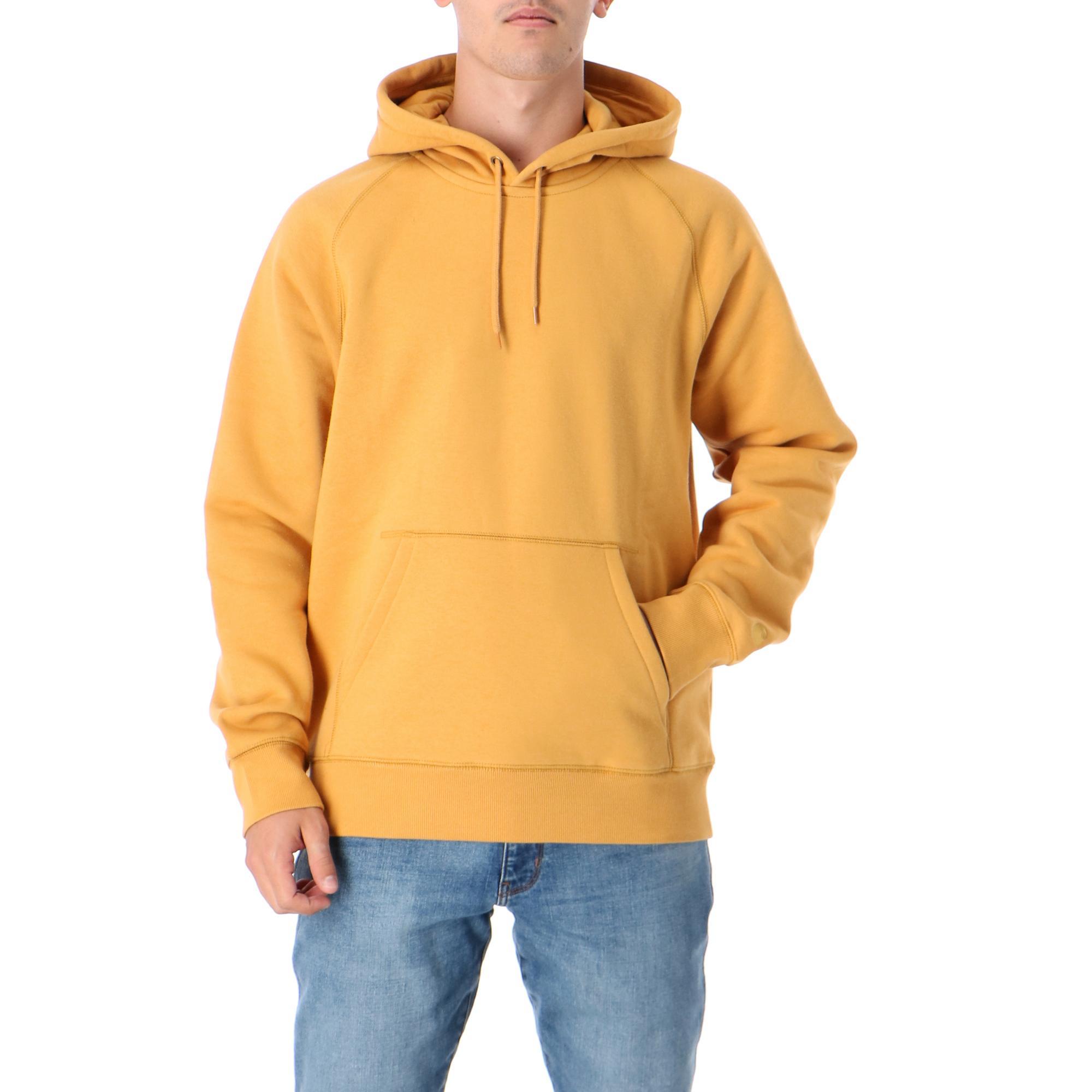 Carhartt Hooded Chase Sweatshirt Winter sun gold