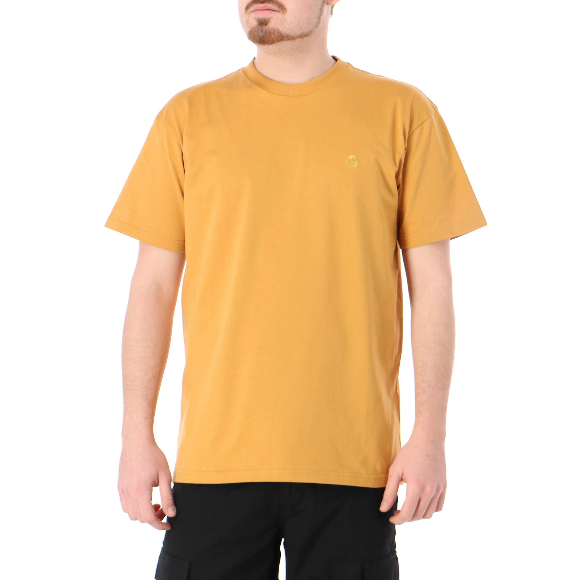 Carhartt S/s Chase T-shirt Winter sun gold