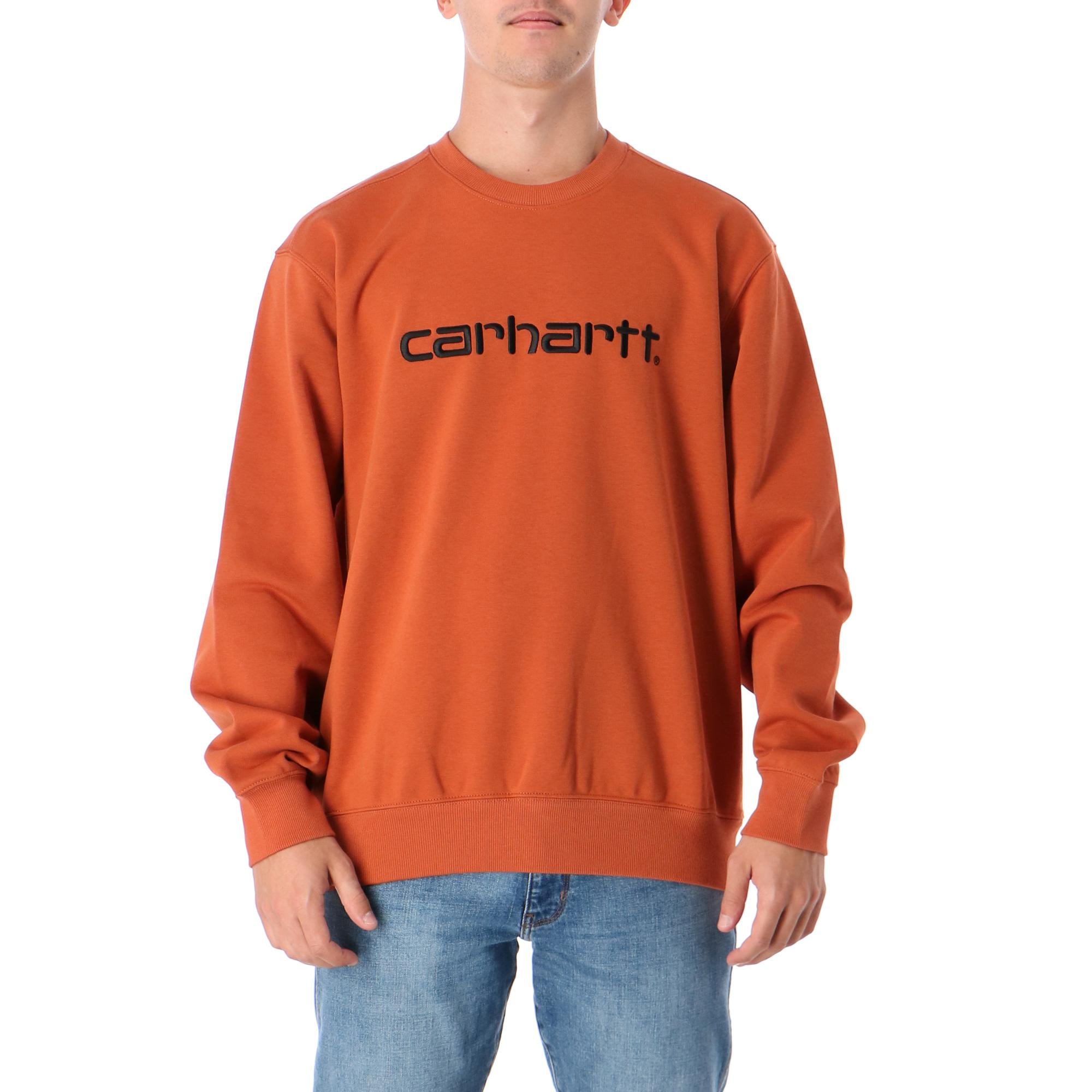 Carhartt Sweatshirt Cinnamon black