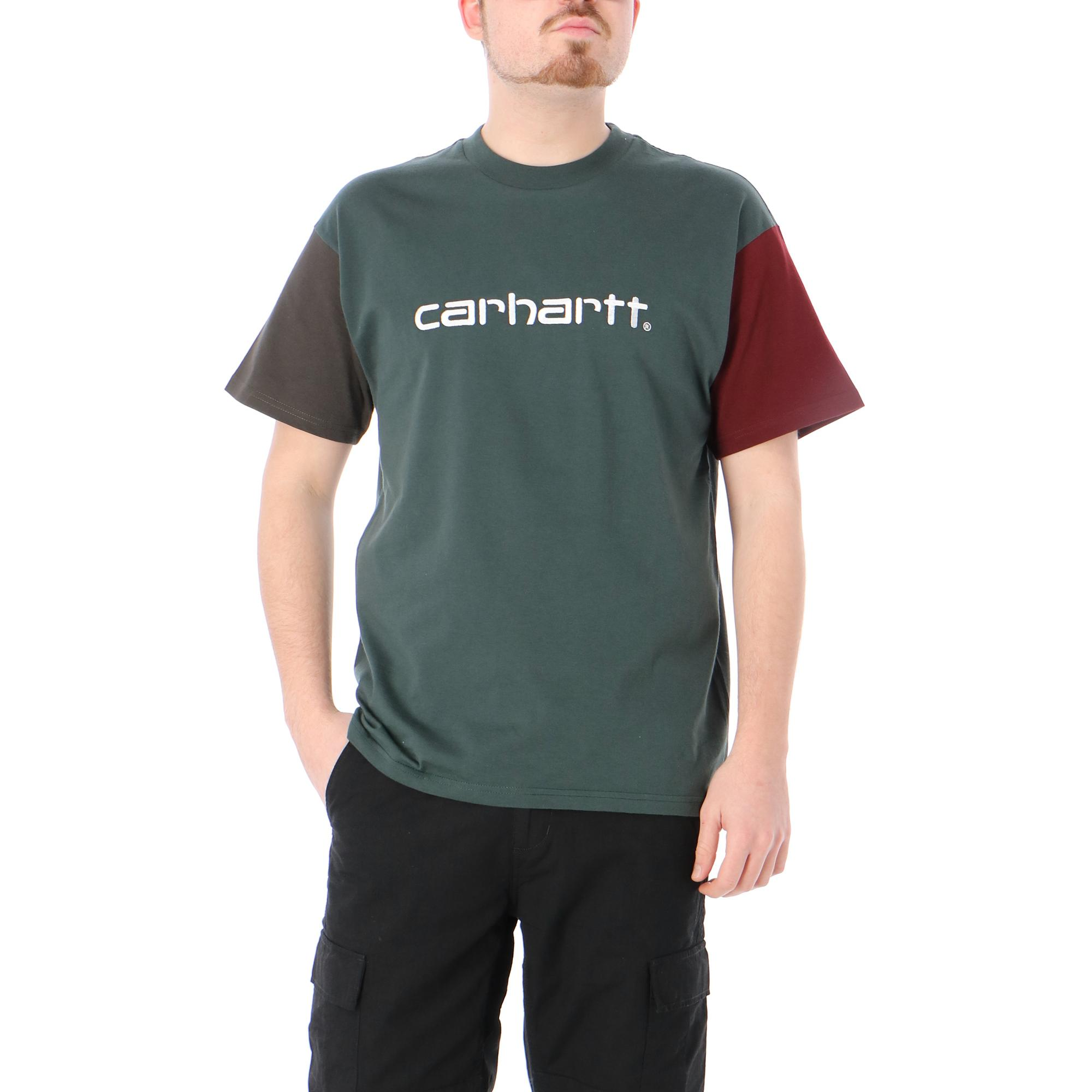 Carhartt S/s Carhartt Tricol T-shirt DARK TEAL