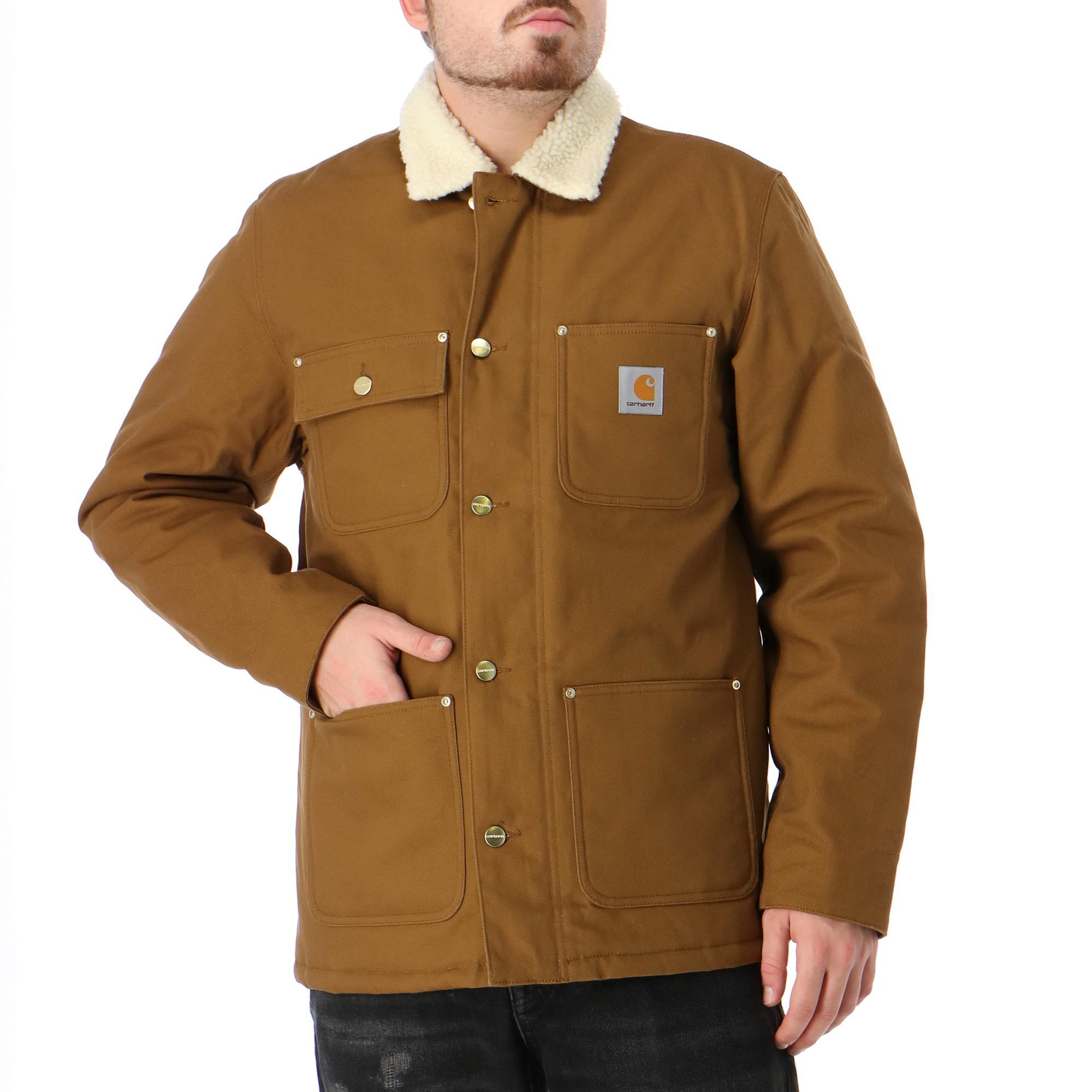 Carhartt Fairmount Coat Hamilton brown rigid