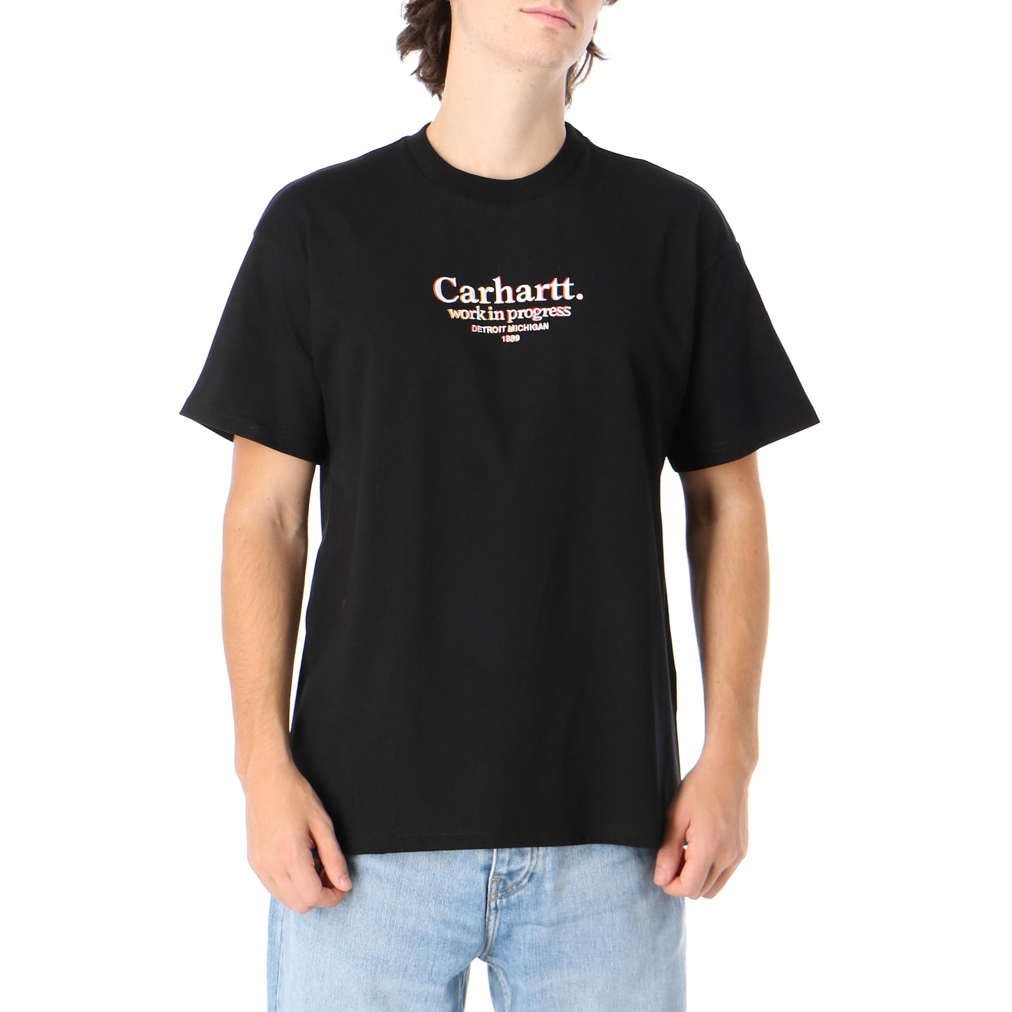 Carhartt S/s Commission T-shirt Black