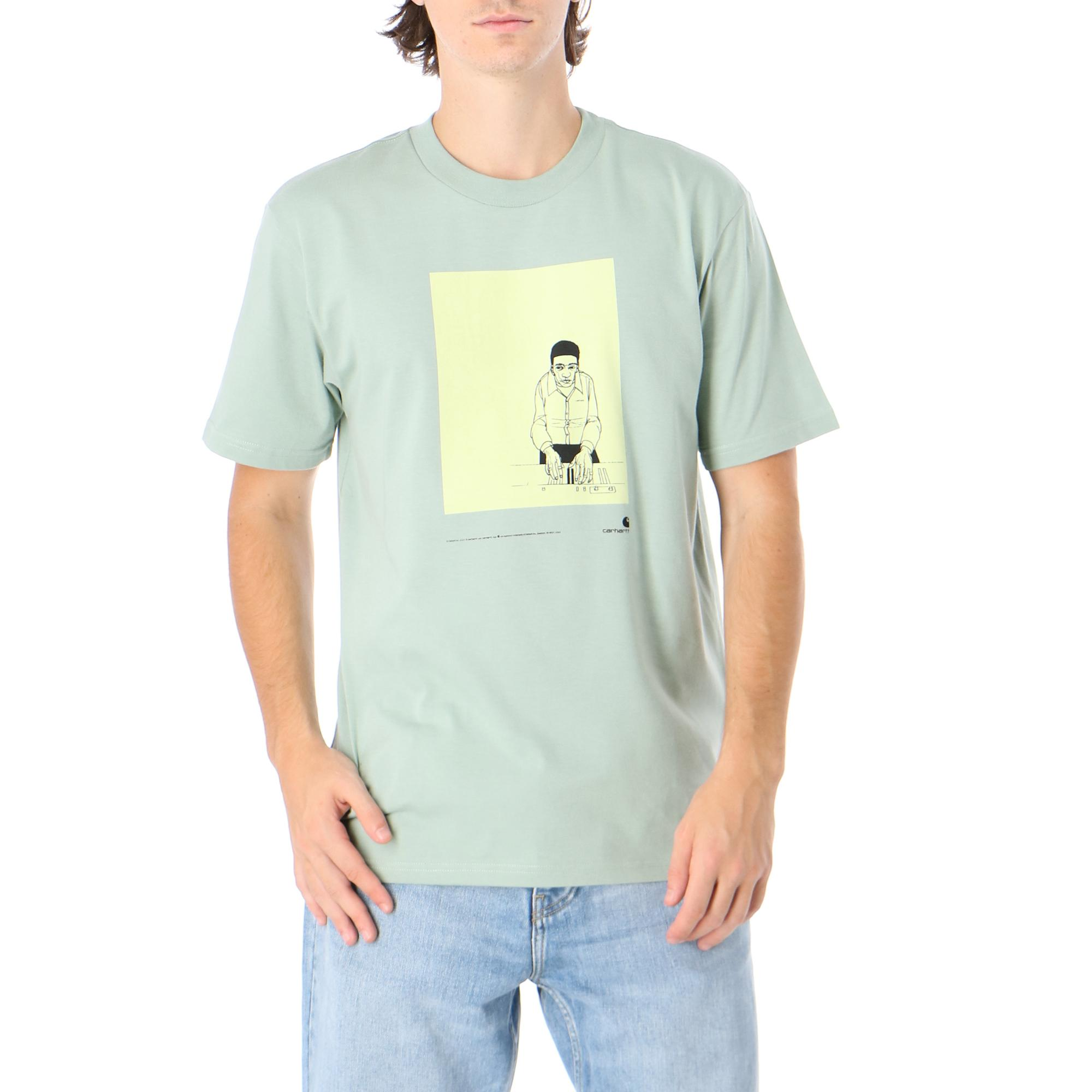 Carhartt S/s 1999 Ad Evan Hecox T-shirt Frosted green
