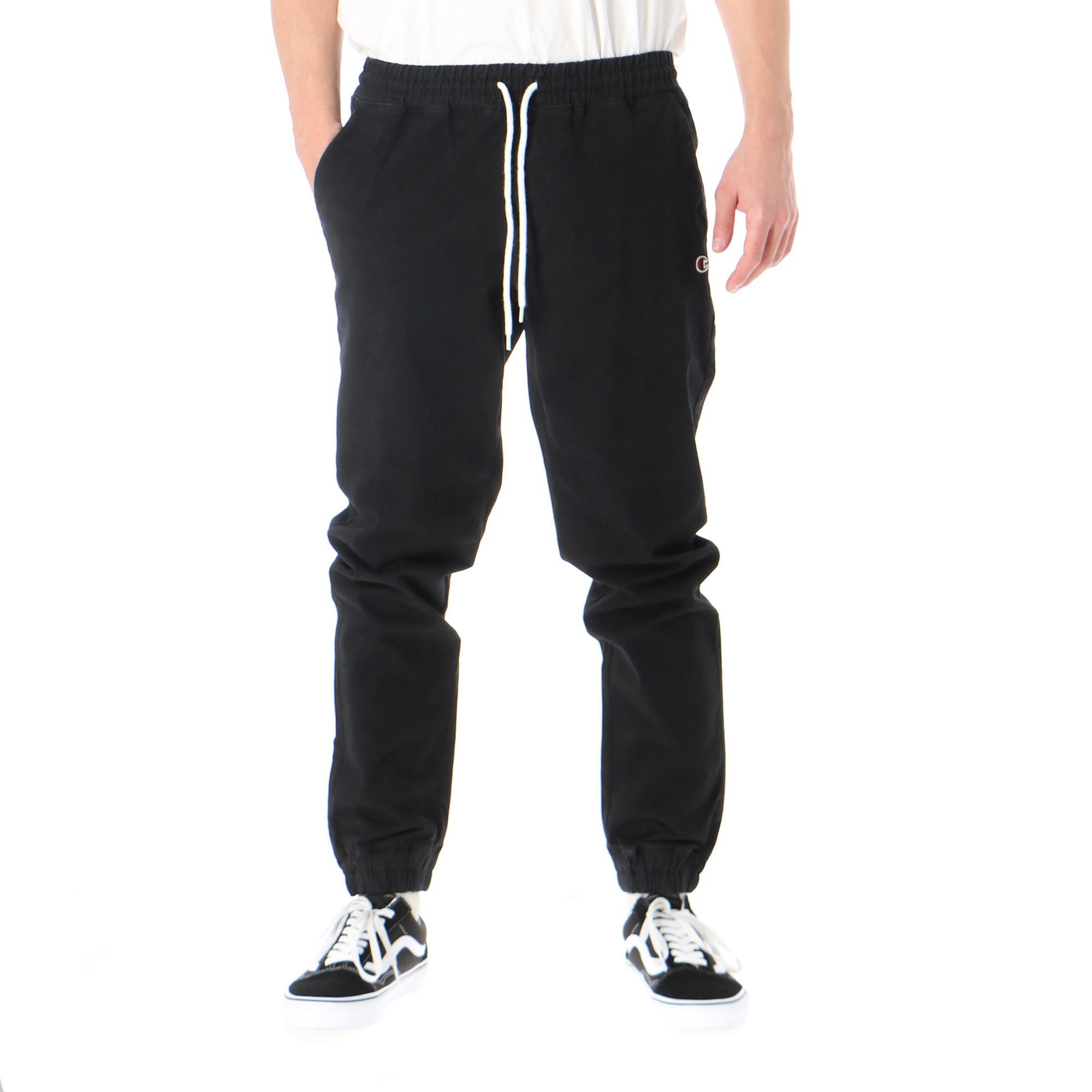 Champion Elastic Cuff Pants Black