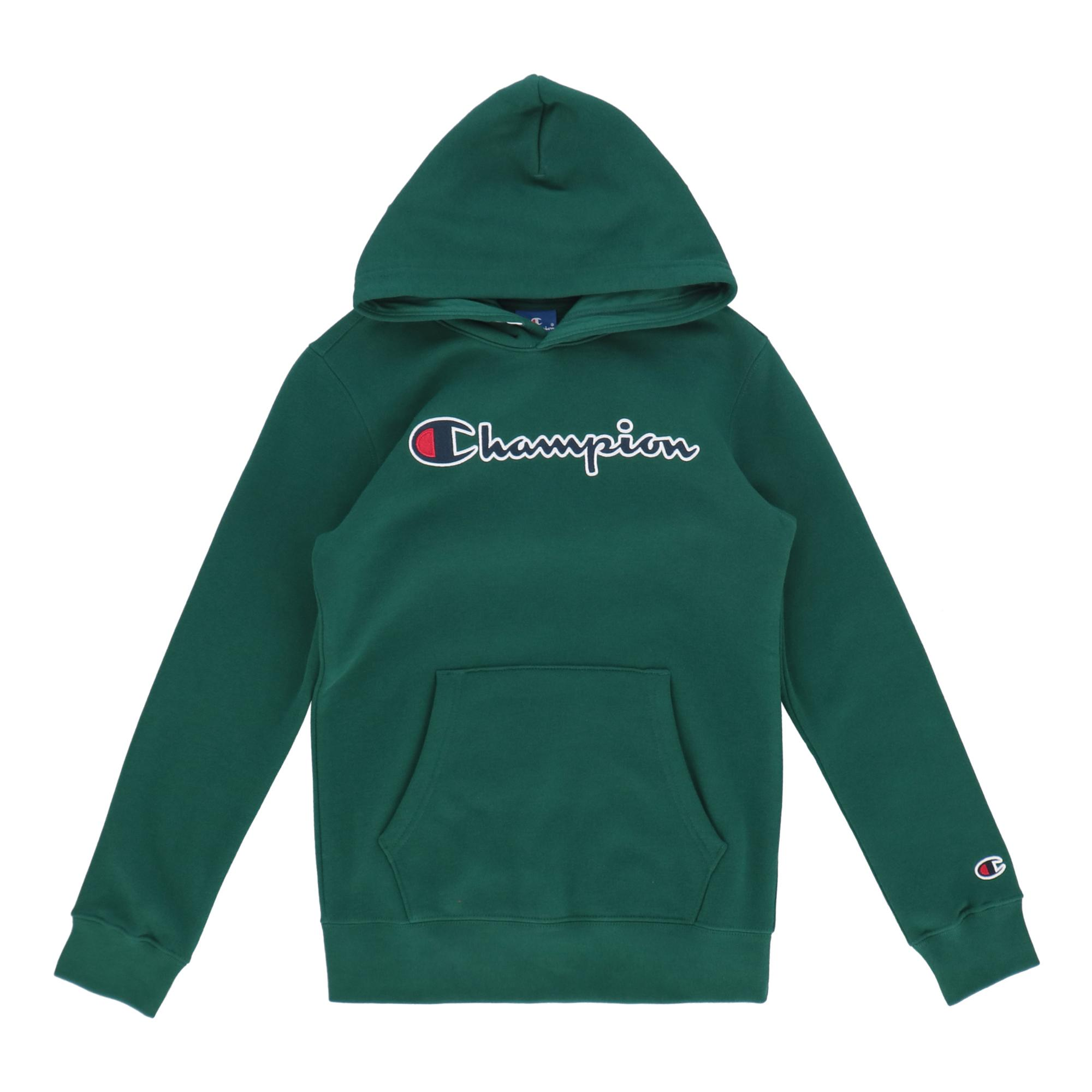 Champion Hooded Sweatshirt Green bottle