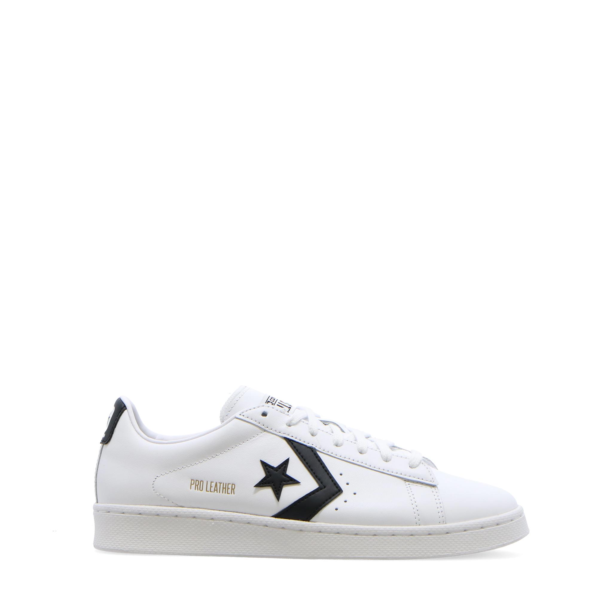 Converse Pro Leather Ox White black WHITE