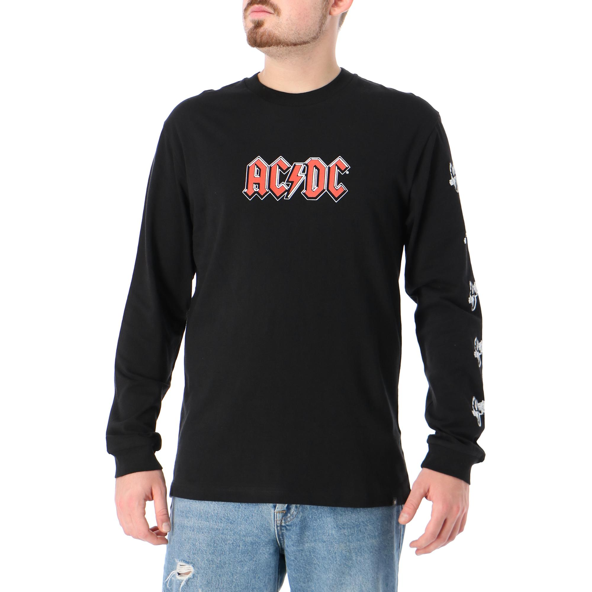 Dc Acdc About To Rock Ls Black