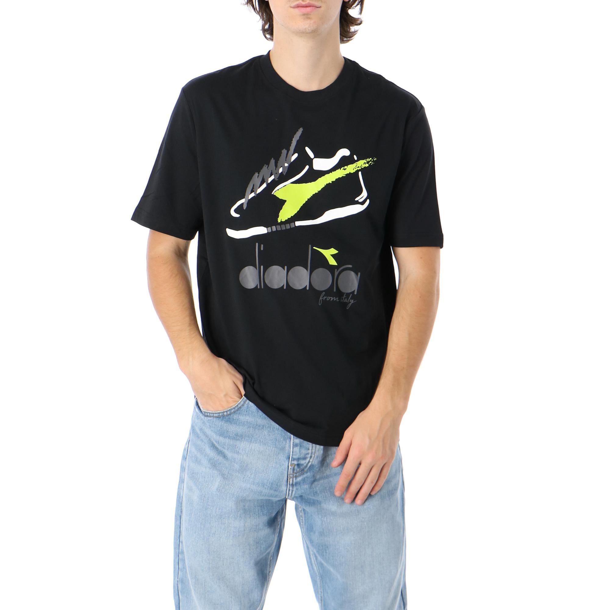 Diadora Ss Tshirt '95 Krk Black