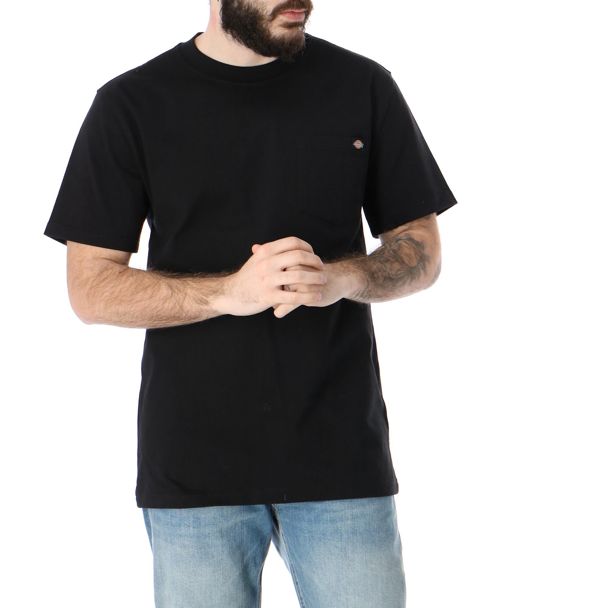Dickies Porterdale Tshirt Mens<br/> Black