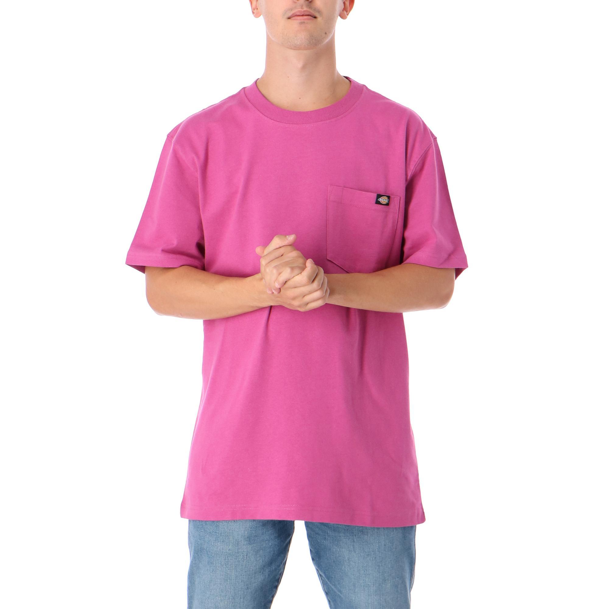 Dickies Porterdale Tshirt Mens Pink berry