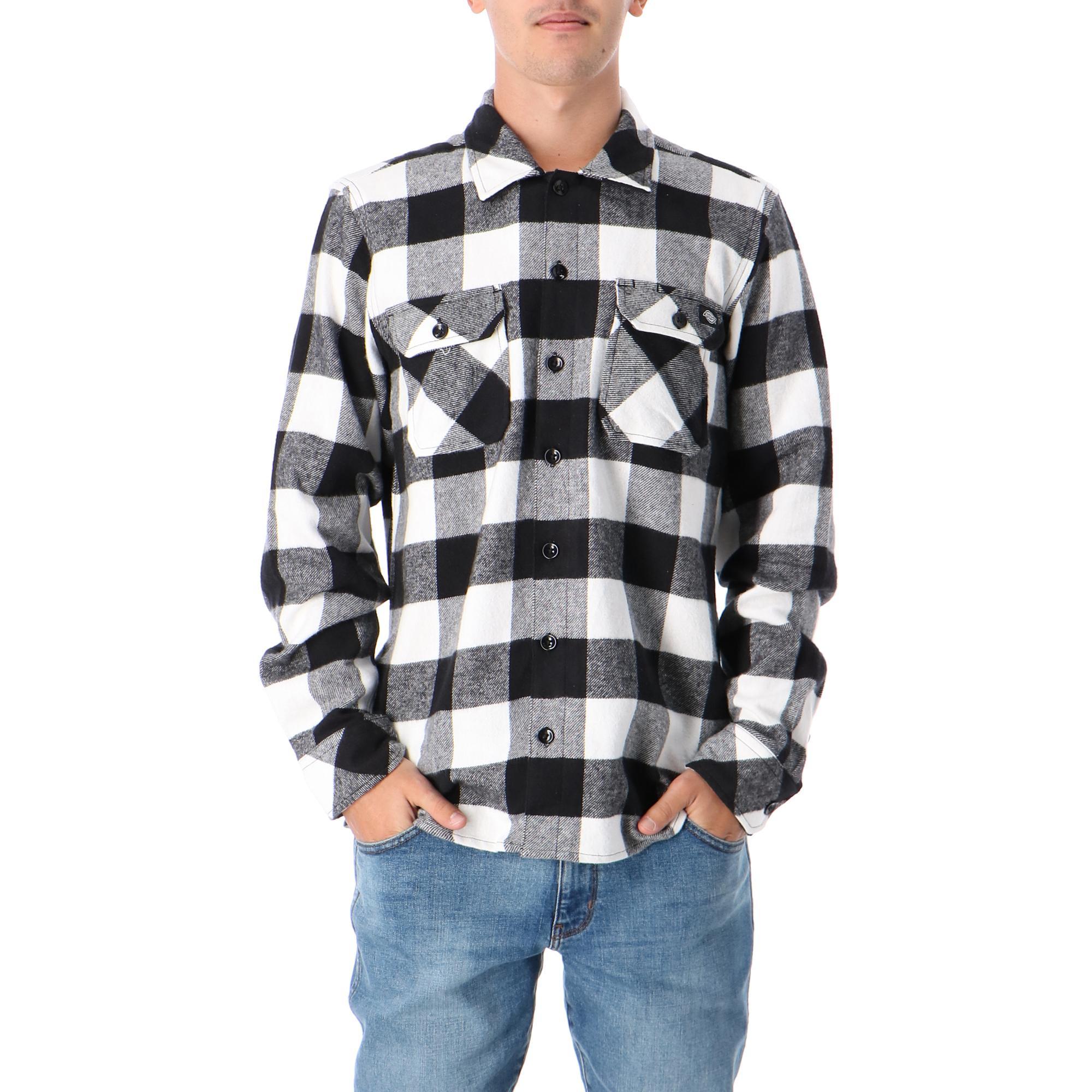 Dickies Sacramento Relaxed Long Sleeve Shirt Black