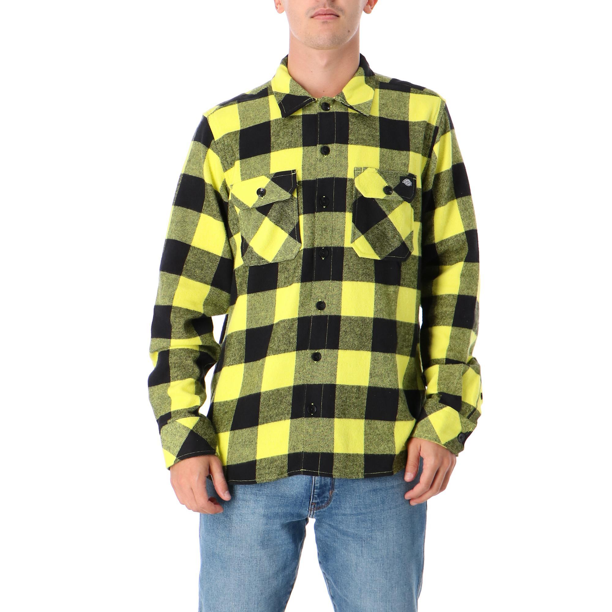 Dickies Sacramento Relaxed Long Sleeve Shirt Sulphur