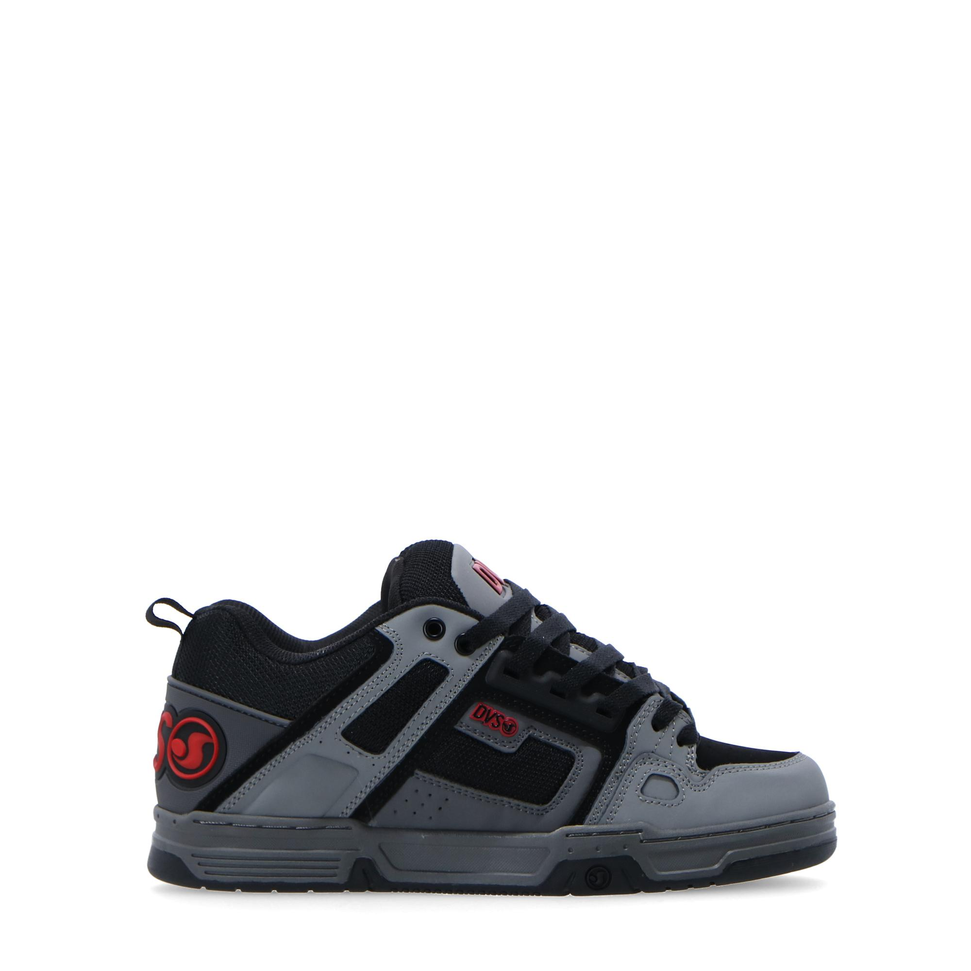 Dvs Comanche Grey charcoal black leather