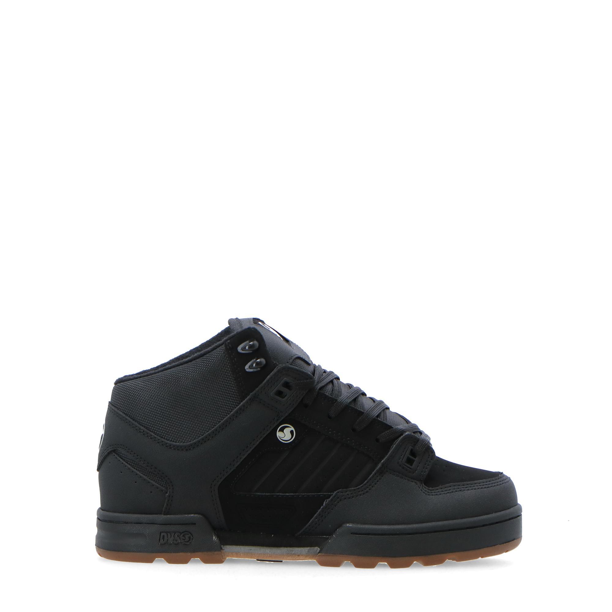 Dvs Militia Boot Black black gum nubuck