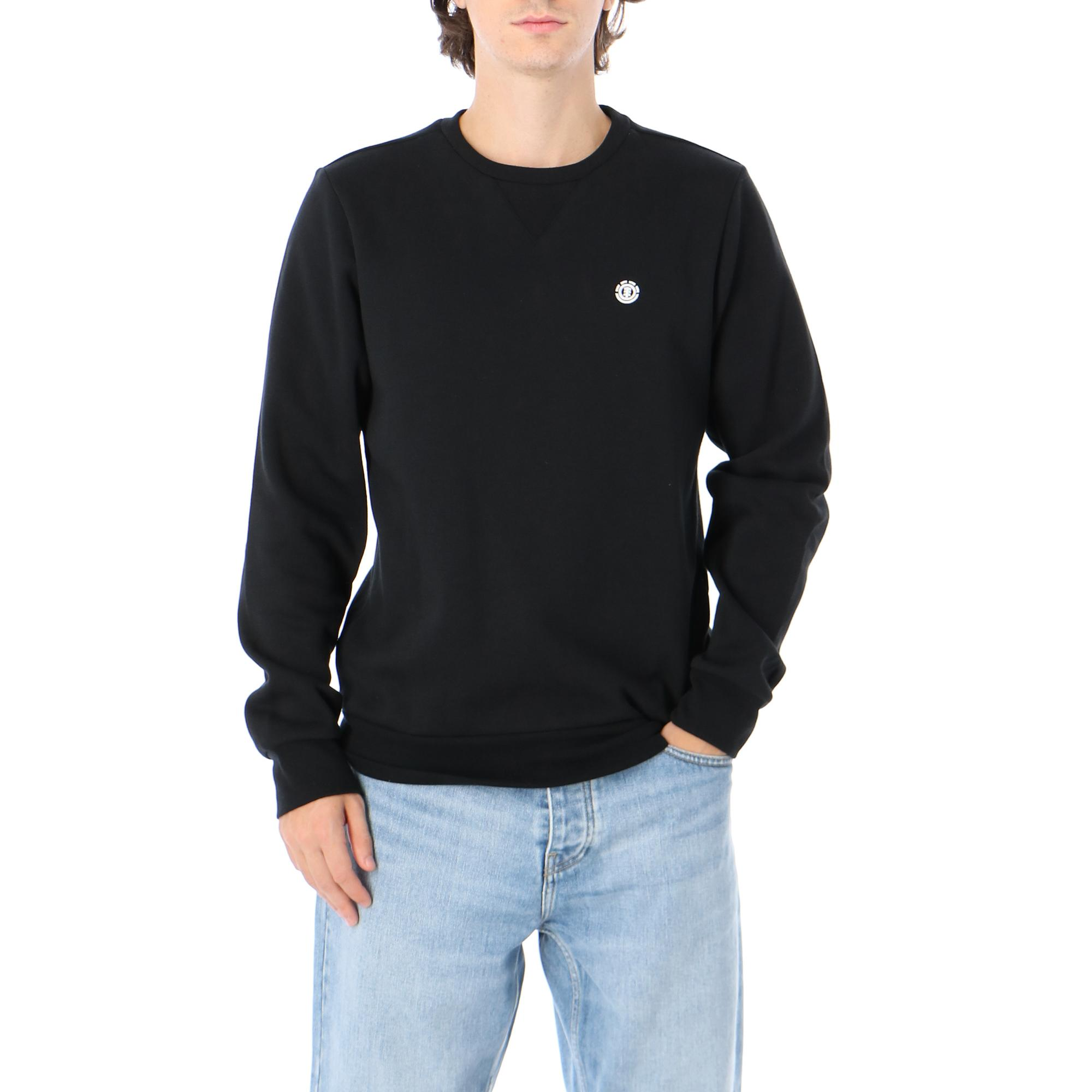 Element Cornell Classic Crew FLINT BLACK