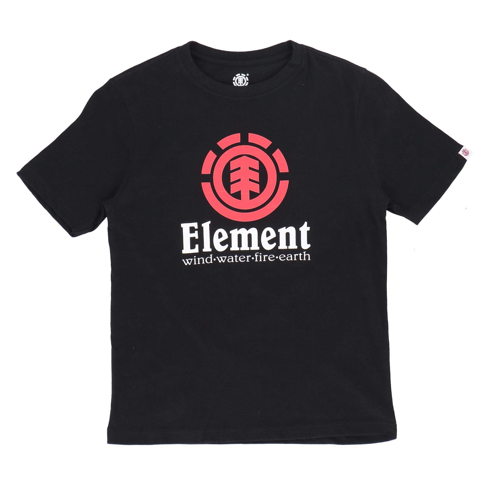 Element Vertical Ss Boy FLINT BLACK