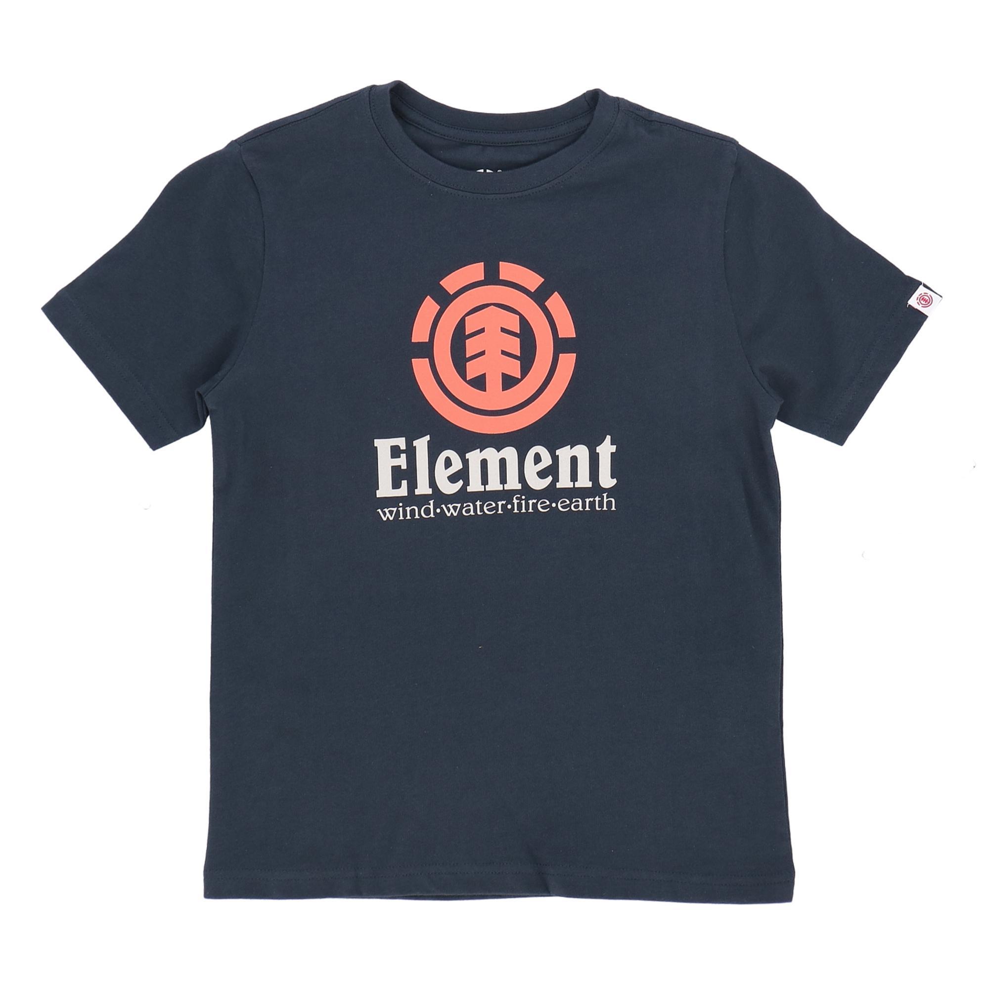 Element Vertical Ss Boy ECLIPSE NAVY