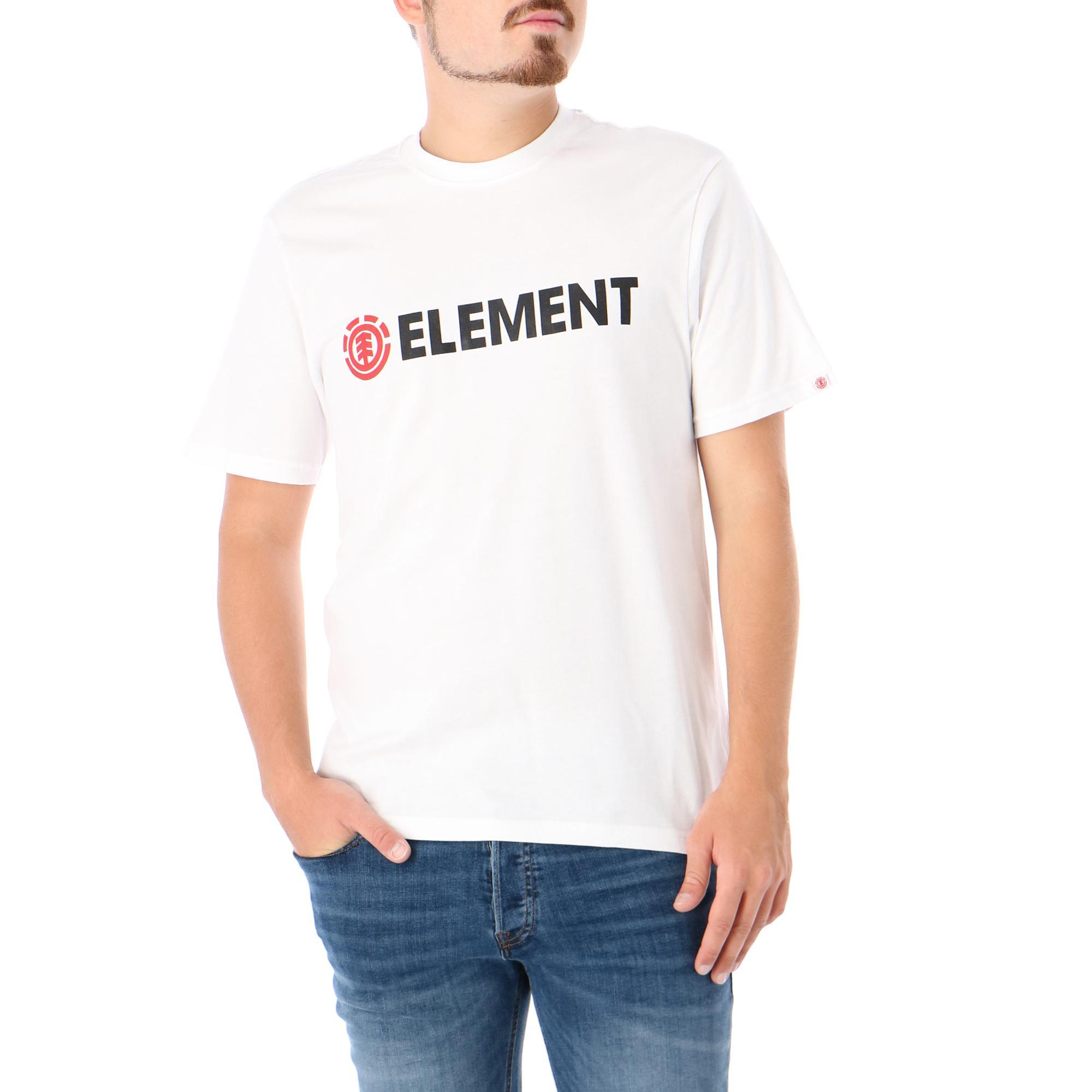 Element Blazin Ss OPTIC WHITE