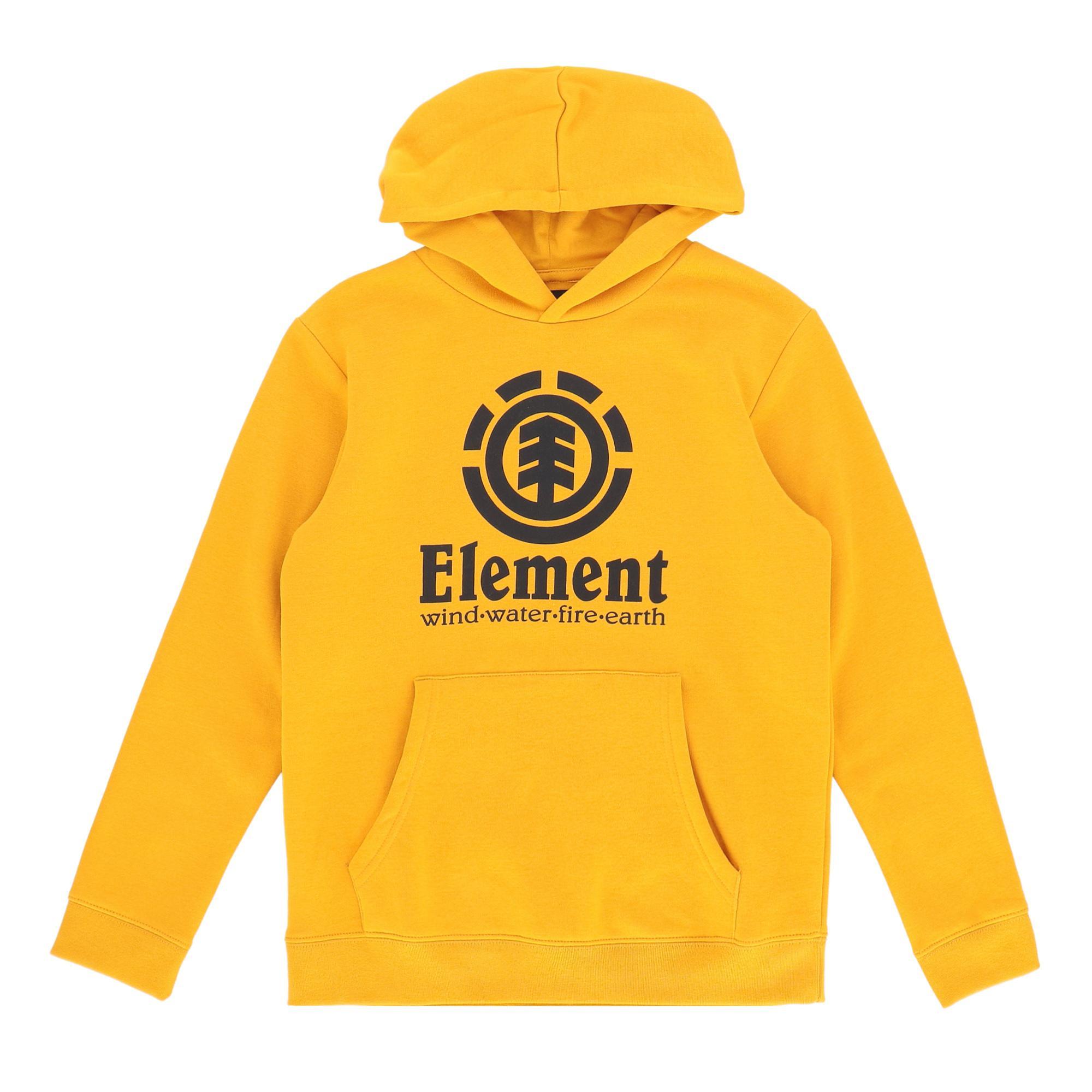 Element Vertical Hood Boy Old gold