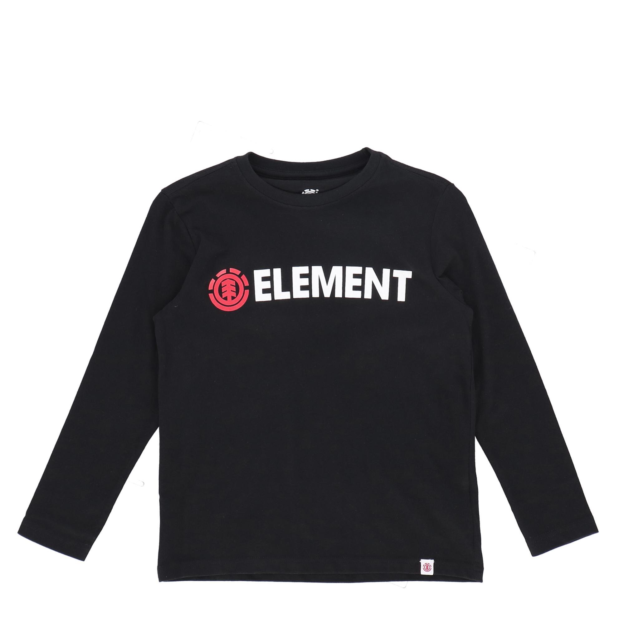 Element Blazin Ls Boy FLINT BLACK