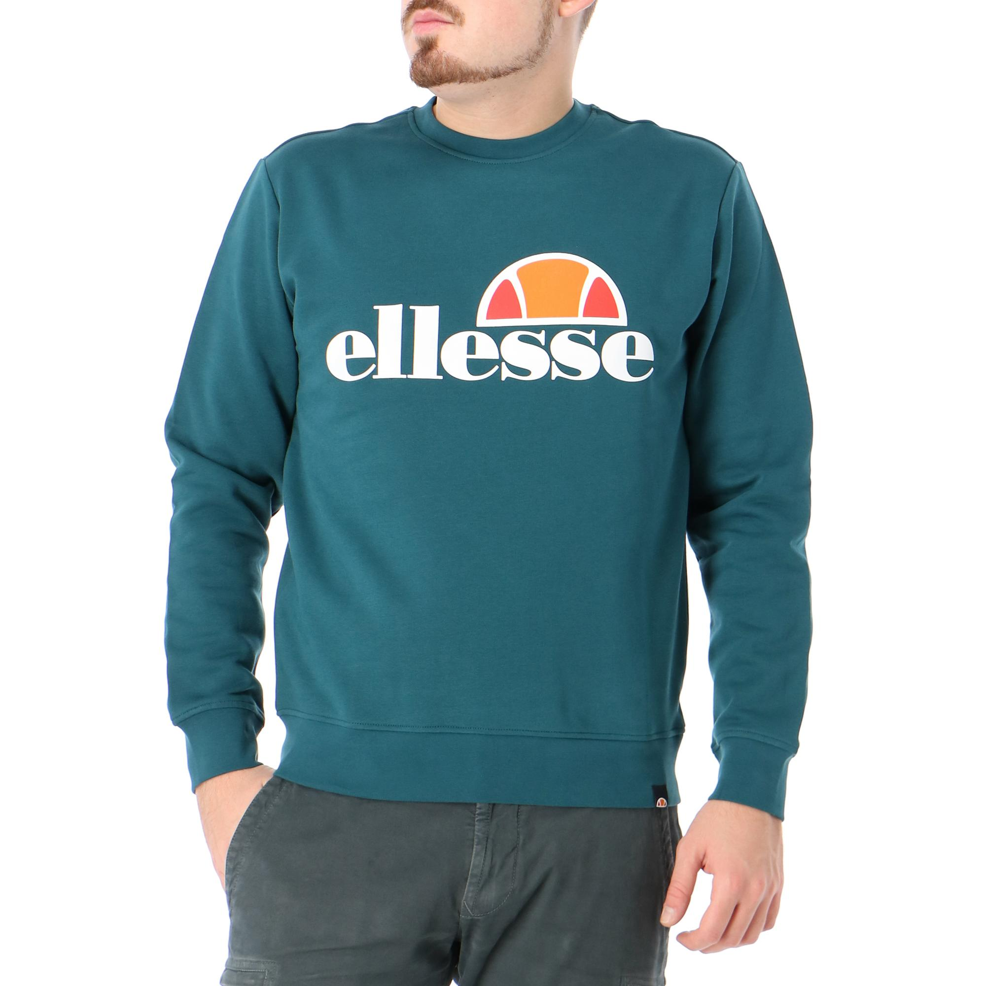 Ellesse Crew Neck Logo Deep teal