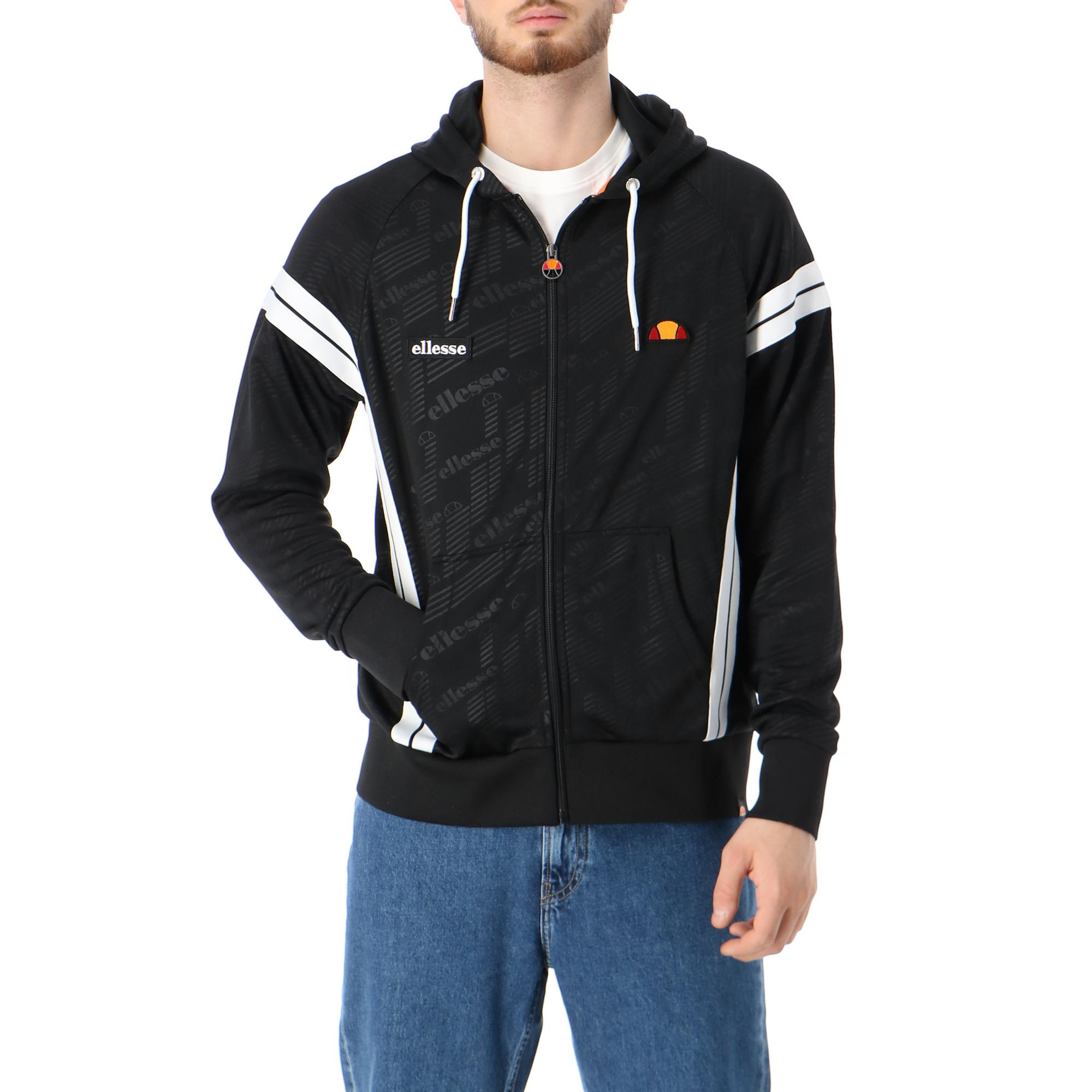 Ellesse Hoody Full Zip Black