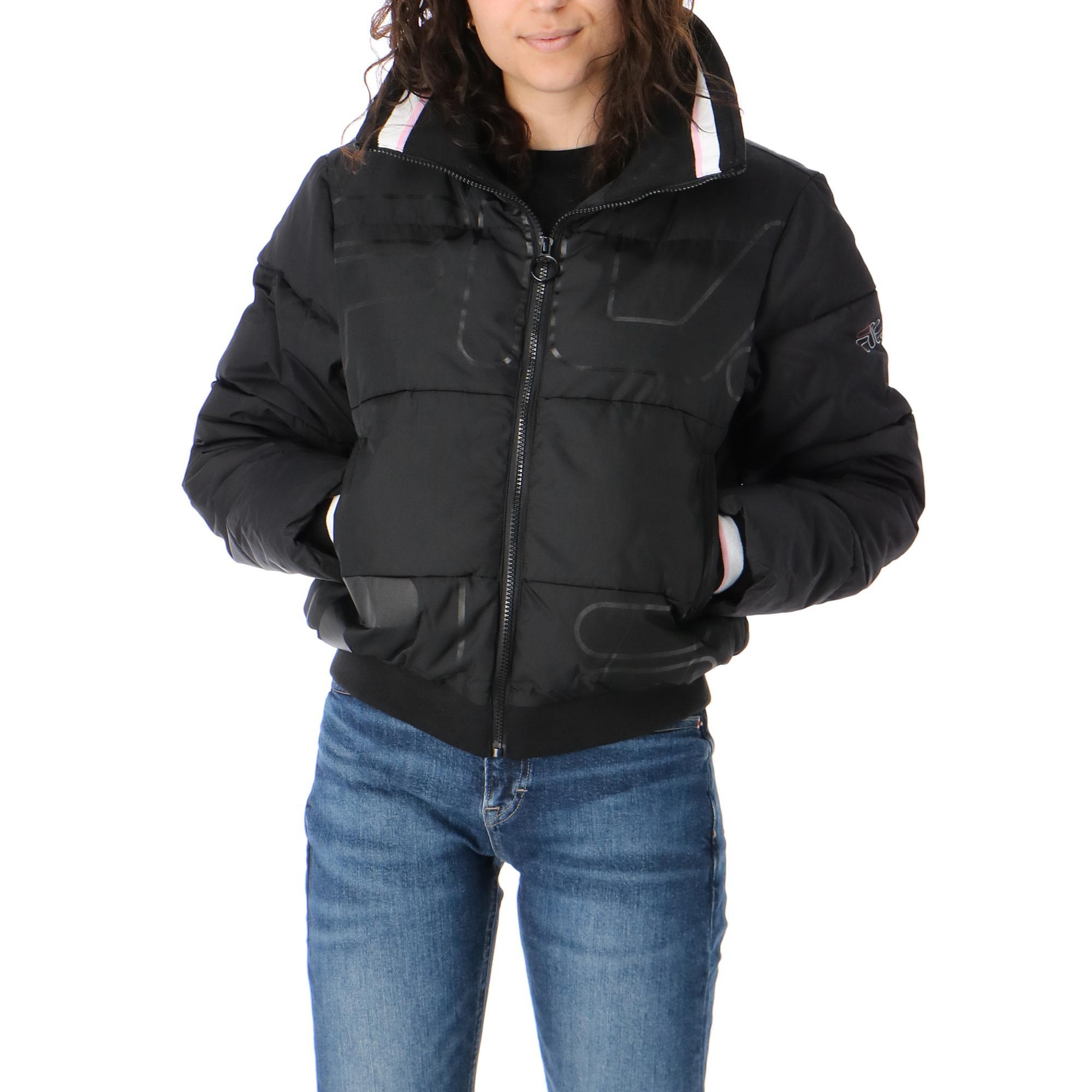Fila Lajana Puffed Jacket <br/> Black