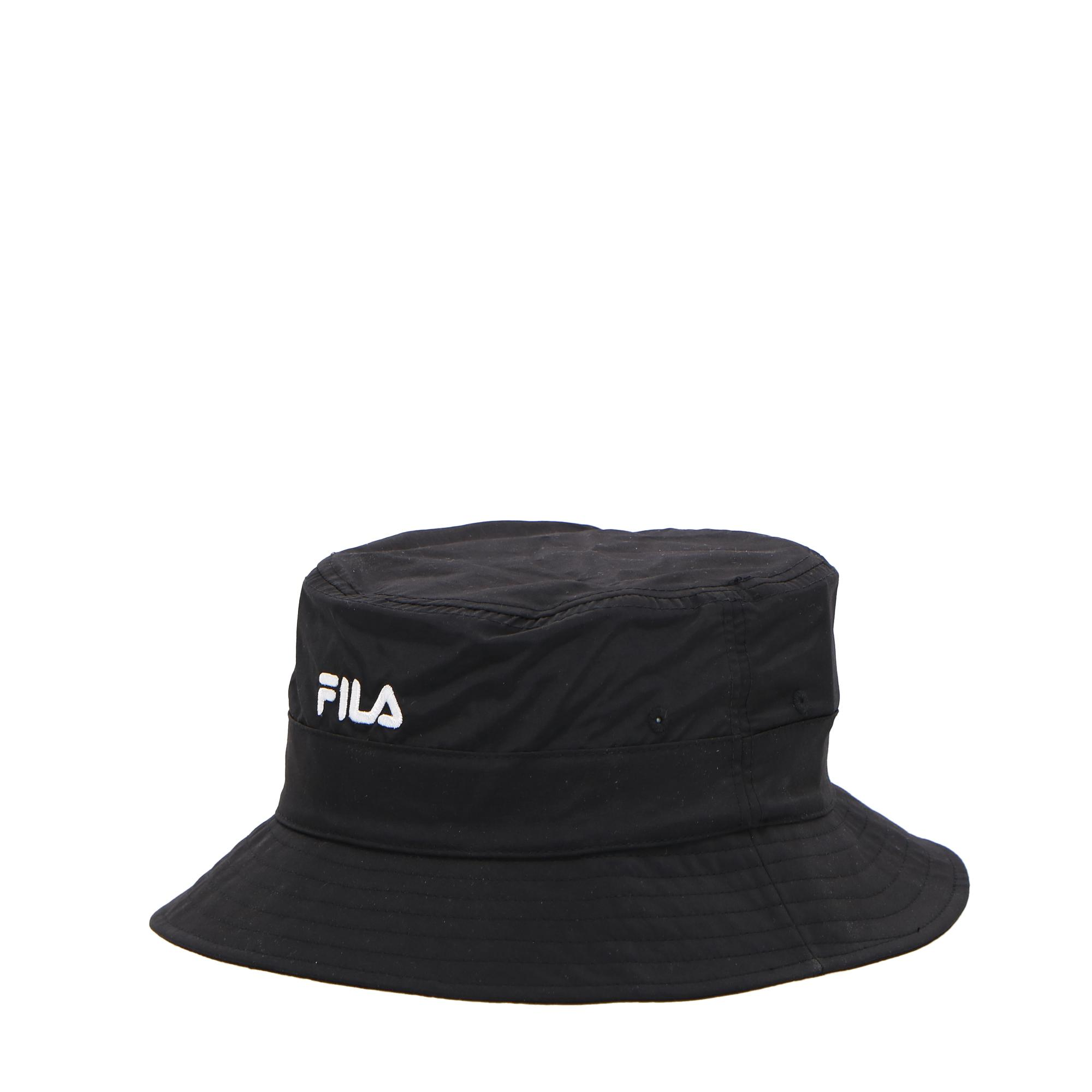 Fila Fishing Bucket Hat Whit Linear Logo Black