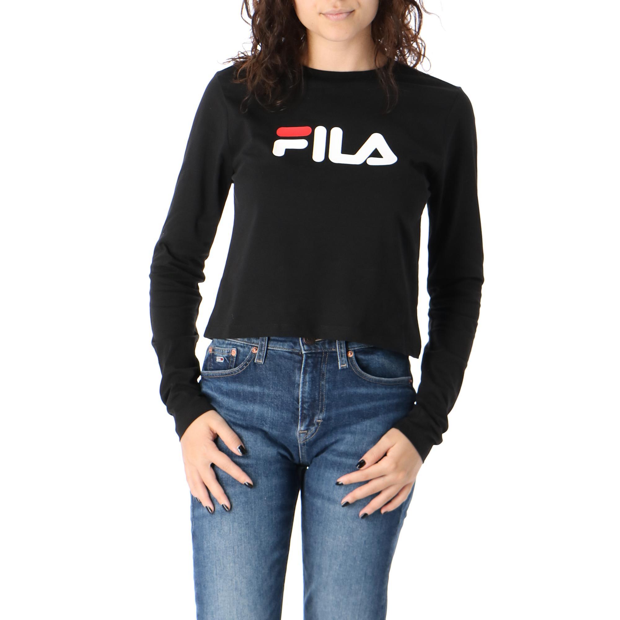 Fila Marceline Long Sleeve Black