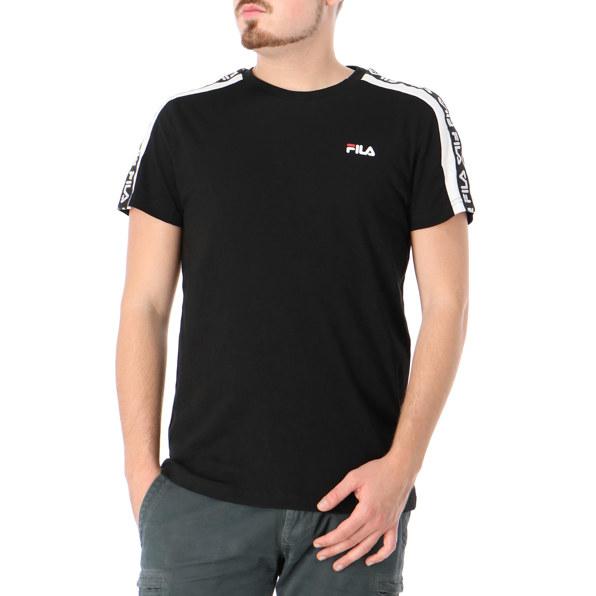 Fila Thanos Tee Black bright white