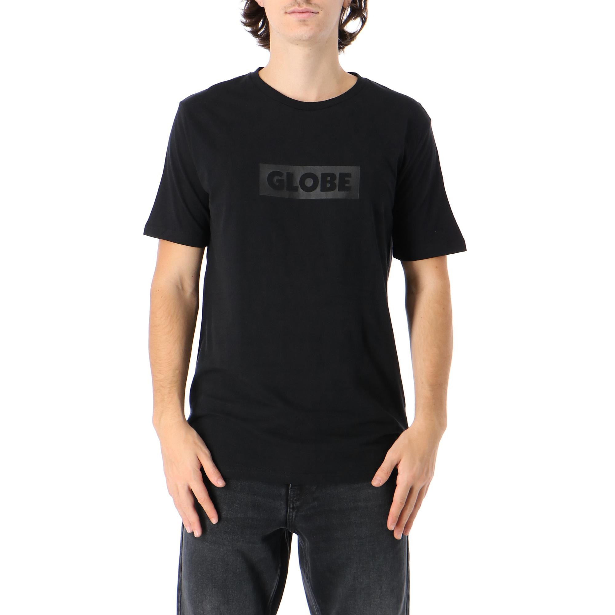 Globe Box Tee Ultrablack