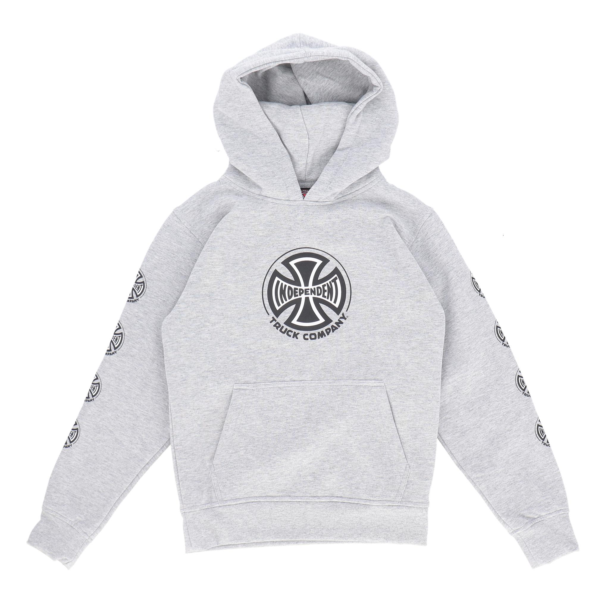 Independent Youth Truck Co. Sleeve Hood HEATHER GREY